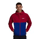 Men's Corbeck Windproof Jacket - Red / Blue