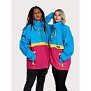 Unisex Ski Smock 86 Half Zip - Blue / Red