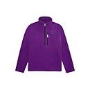 Unisex Prism Half Zip Fleece - Purple Magic