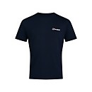 Men's Organic F&B Logo T-Shirt - Blue