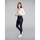 Women's Prism Crop Half Zip Fleece -  Yellow