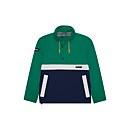 Unisex Ski Smock 86 Waterproof Jacket - Green / Blue / Grey