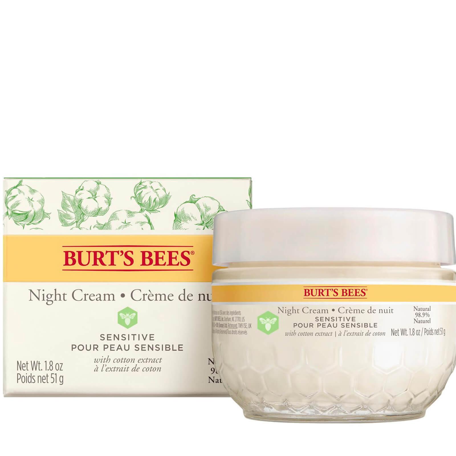 Burt S Bees Sensitive Night Cream Burt S Bees Uk