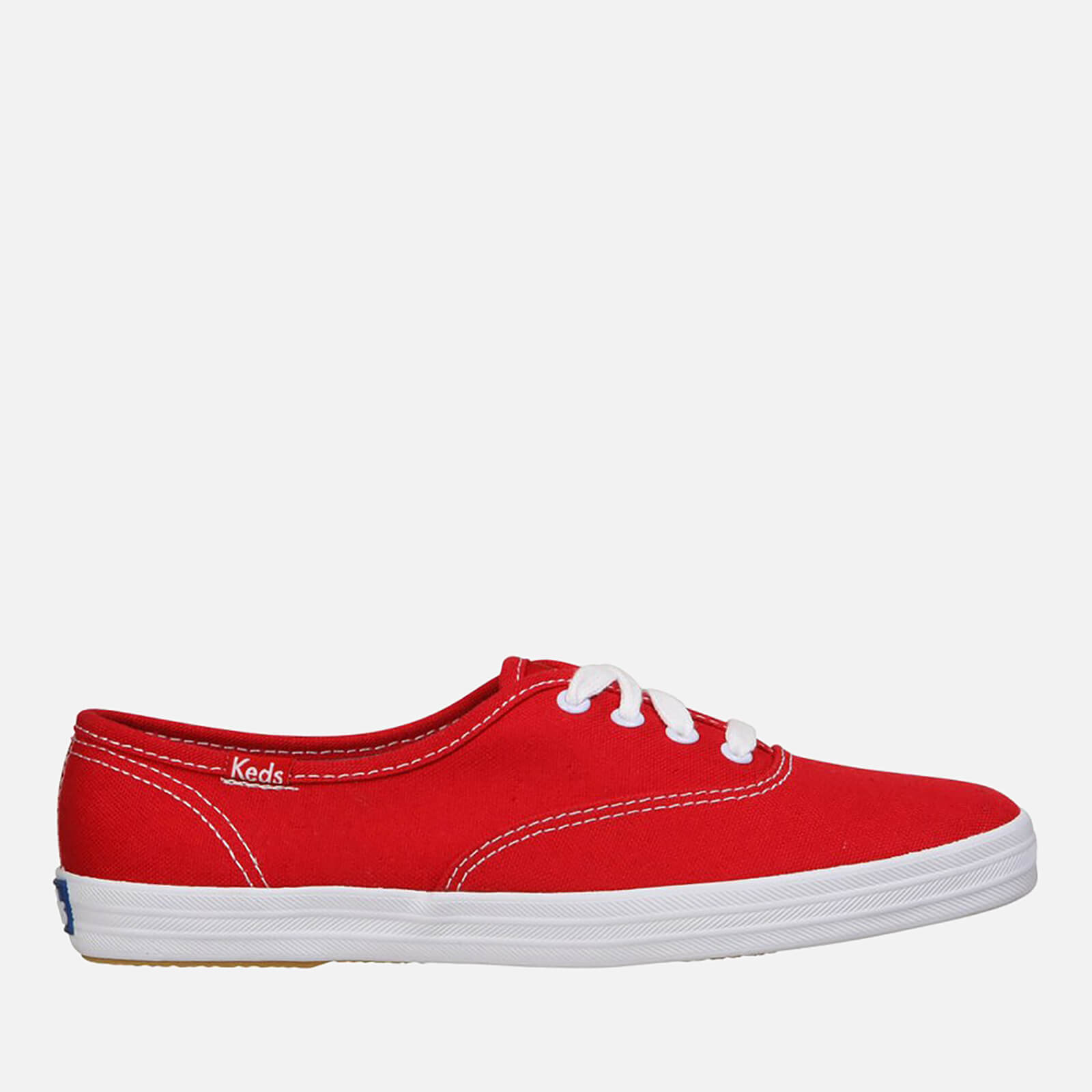 3770bdef32051 Keds Women s Champion CVO Core Canvas Trainers - Red