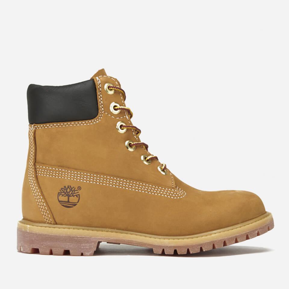 8233c5b7b87fb9 Timberland Women's 6 Inch Nubuck Premium Boots - Wheat