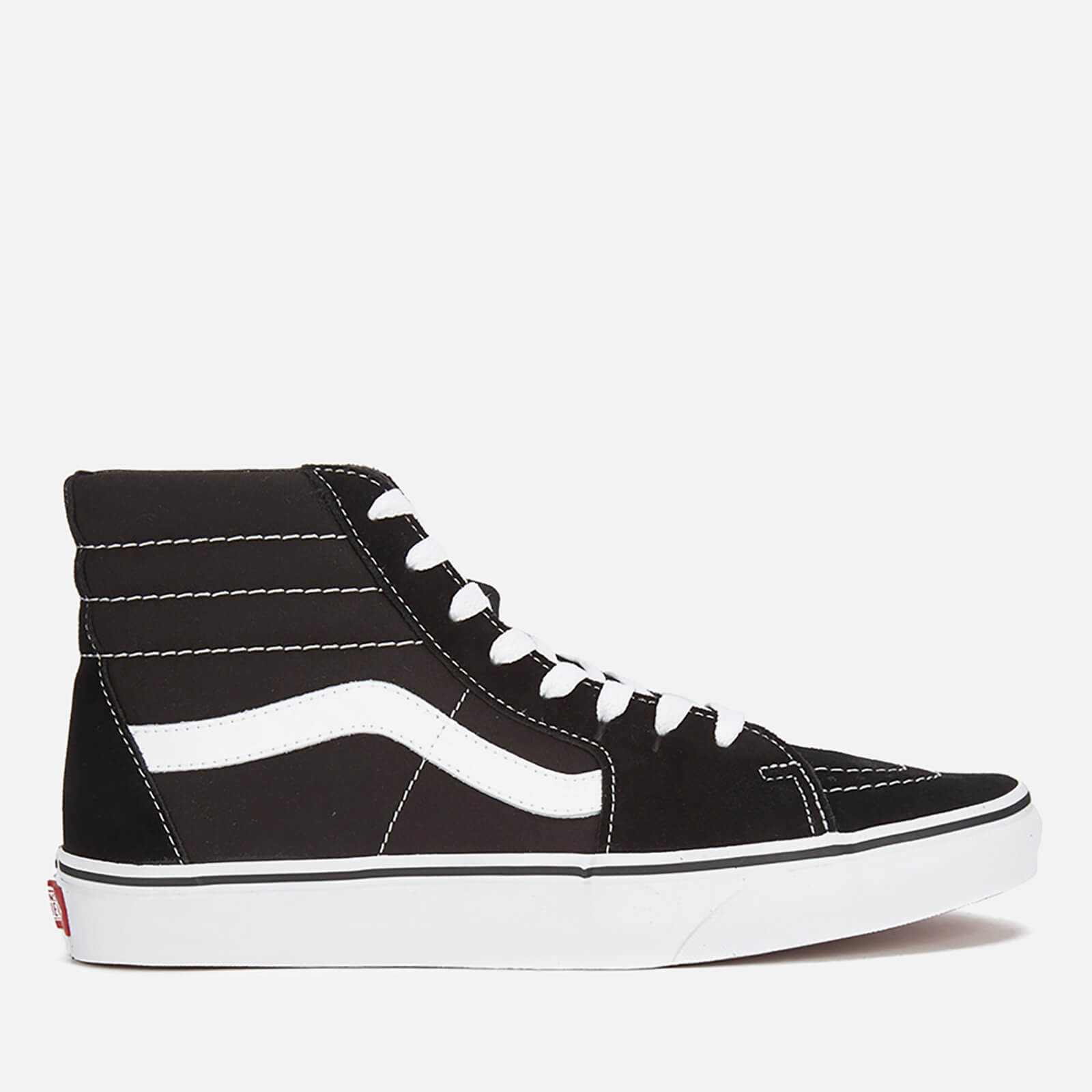 02dba3c57dde59 Vans Sk8 Hi-Top Trainers - Black White