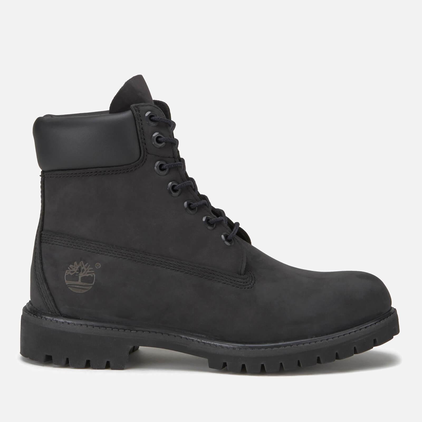 214d4f4365f1e1 Timberland Men s 6 Inch Nubuck Premium Boots - Black