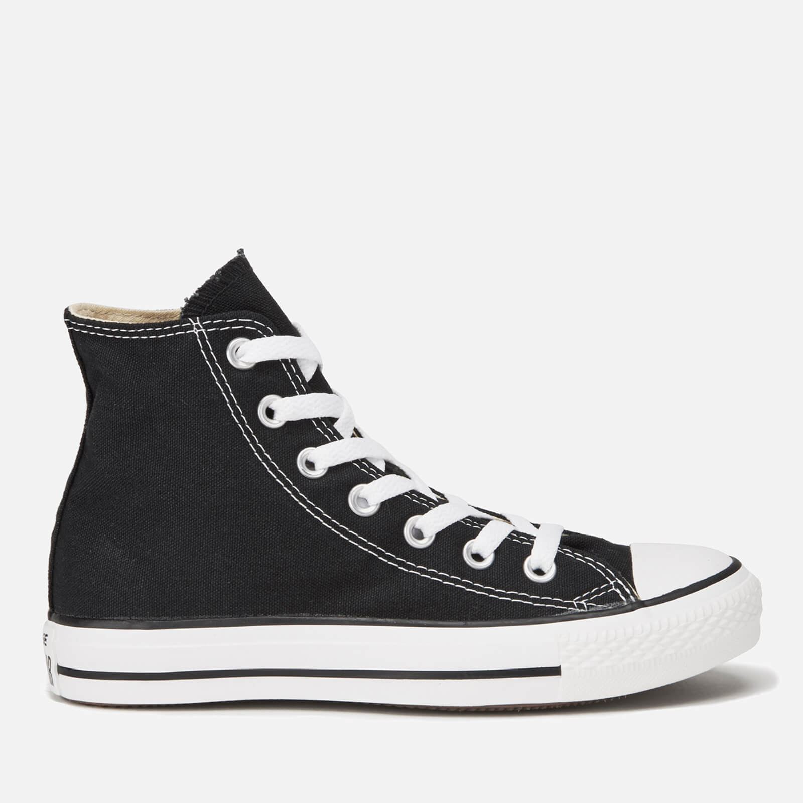 8ca9c8f8fd46 Converse All Star Canvas Hi-Top Trainers - Black