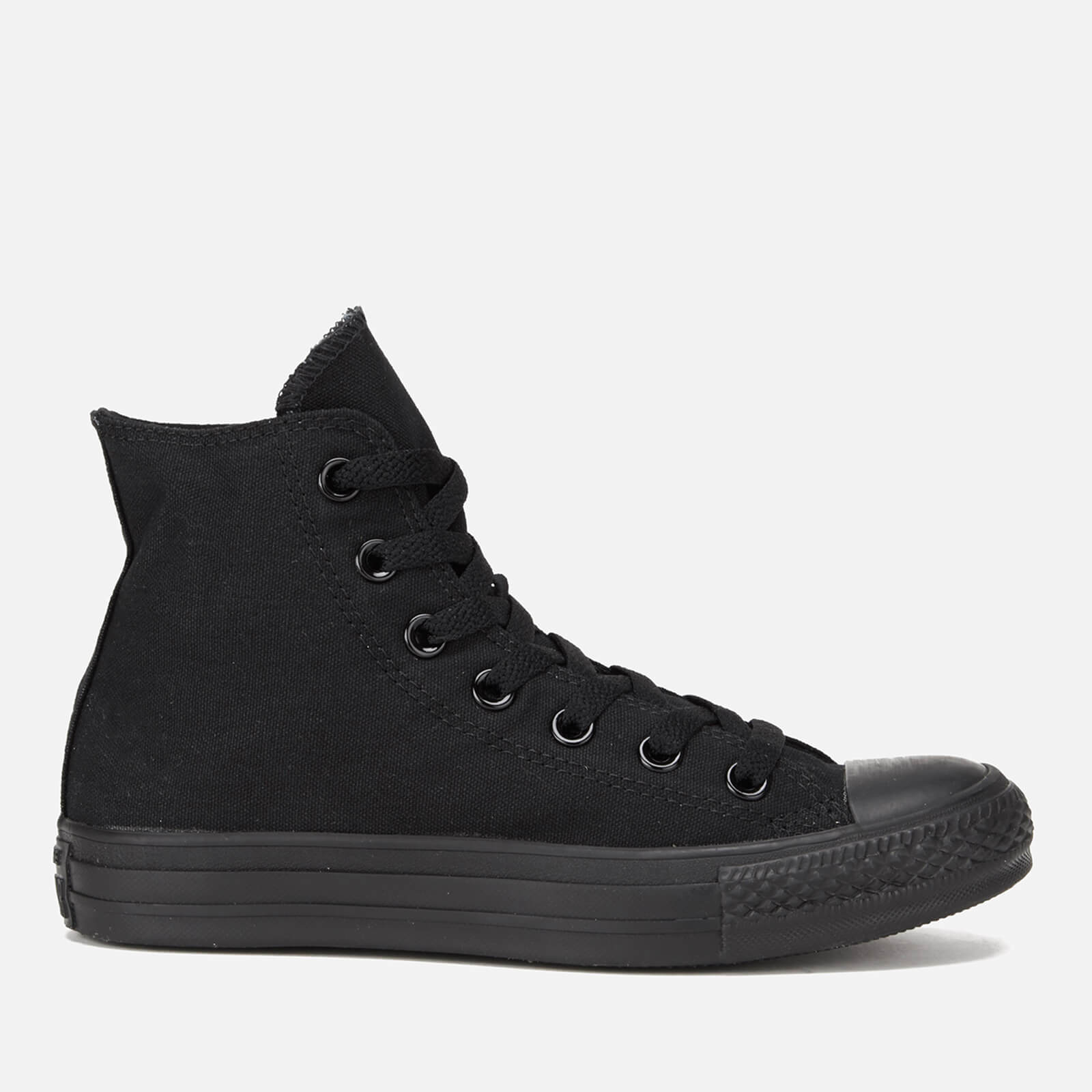 66954f5fa7eb Converse All Star Canvas Hi-Top Trainers - Black Monochrome