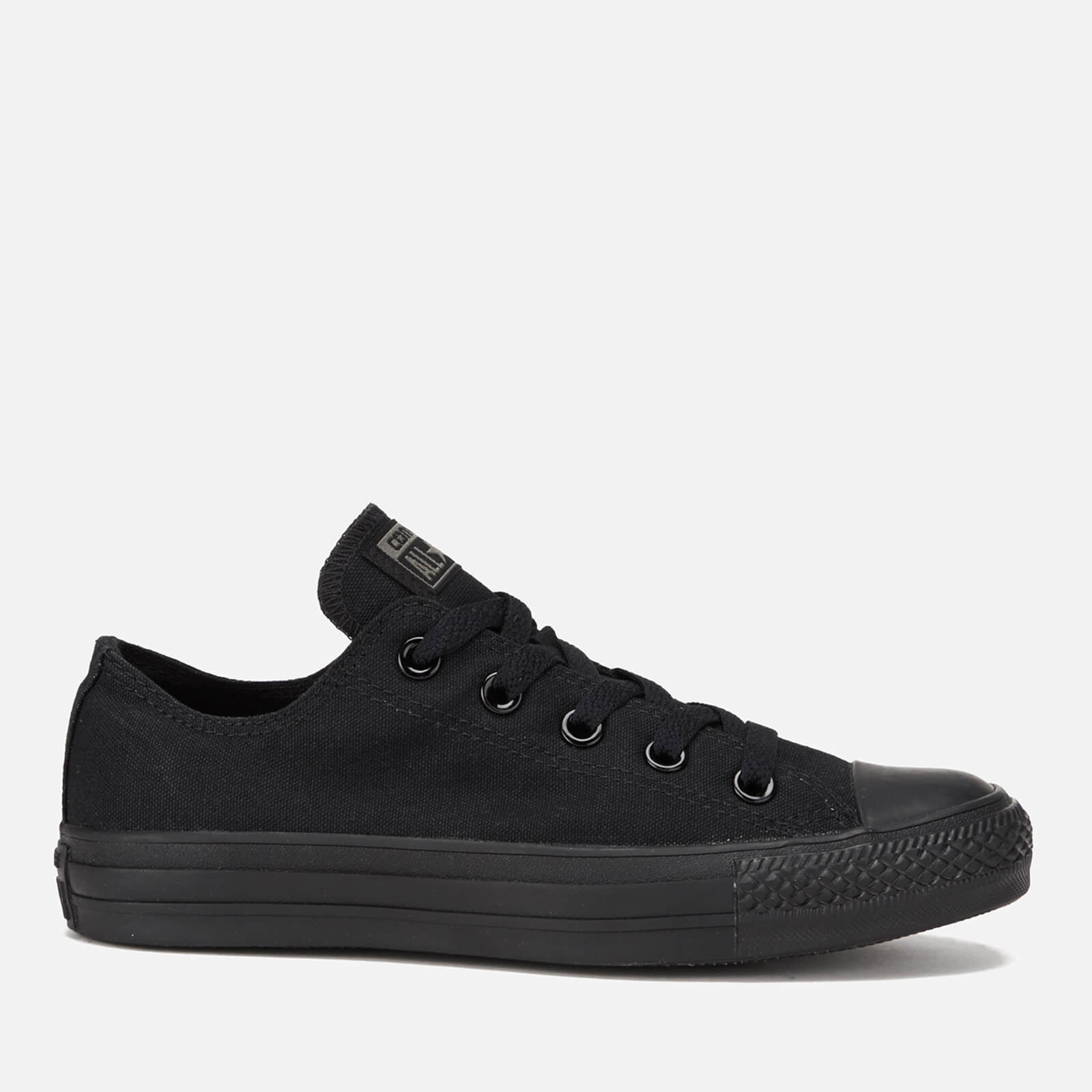 70c4e6122b27 Converse Chuck Taylor All Star Ox Canvas Trainers - Black Monochrome