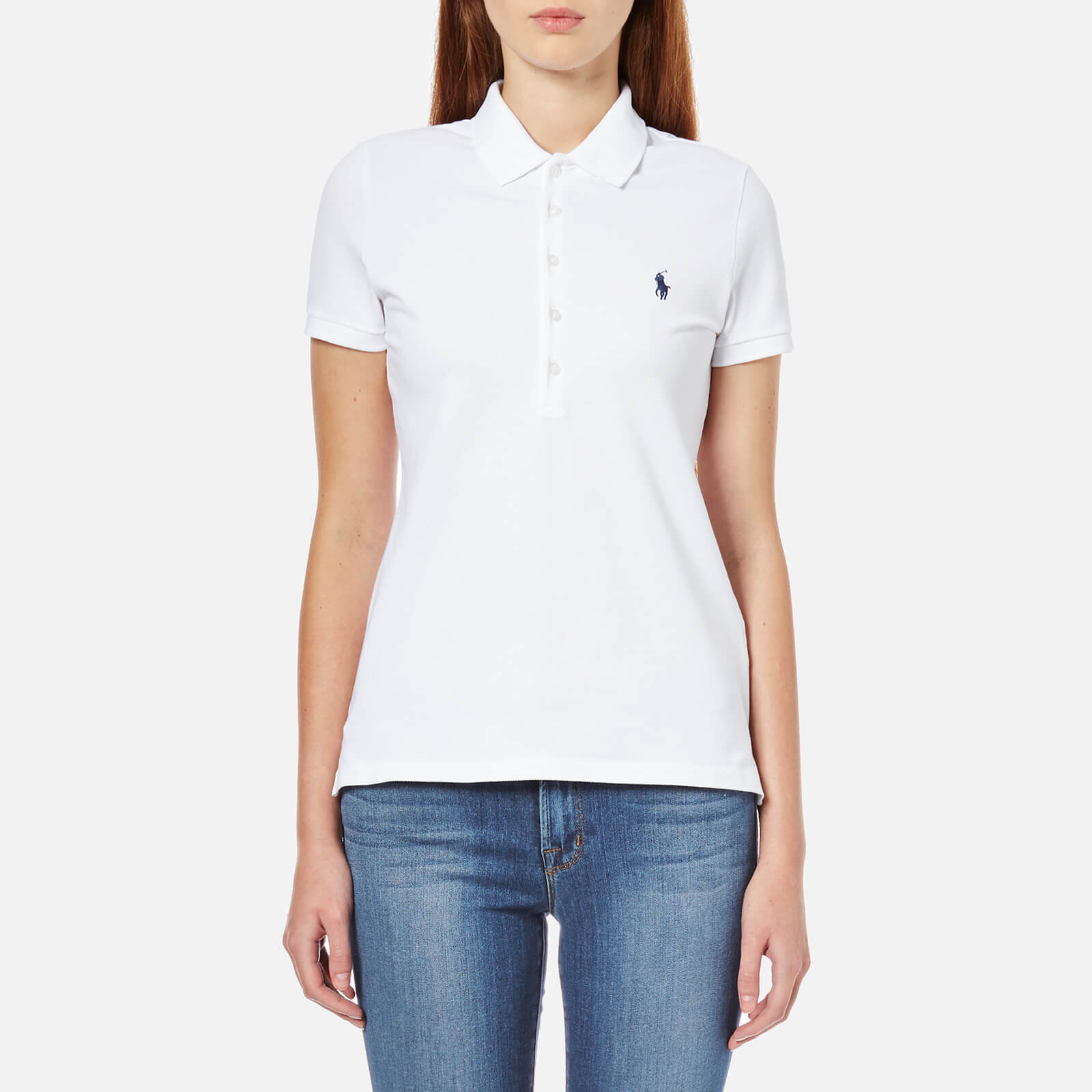 215b5ffdf12b Polo Ralph Lauren Women s Julie Polo Shirt - White