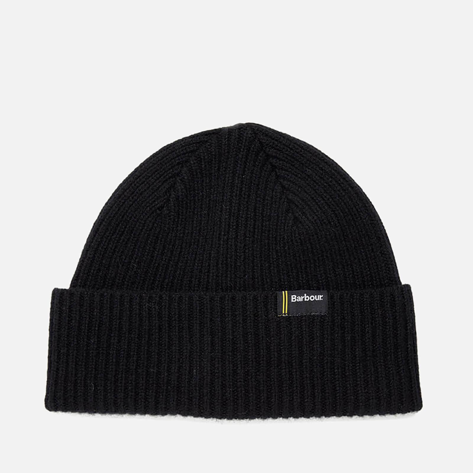 eb7882717a328 Barbour International Men's Beanie Hat - Black - One Size