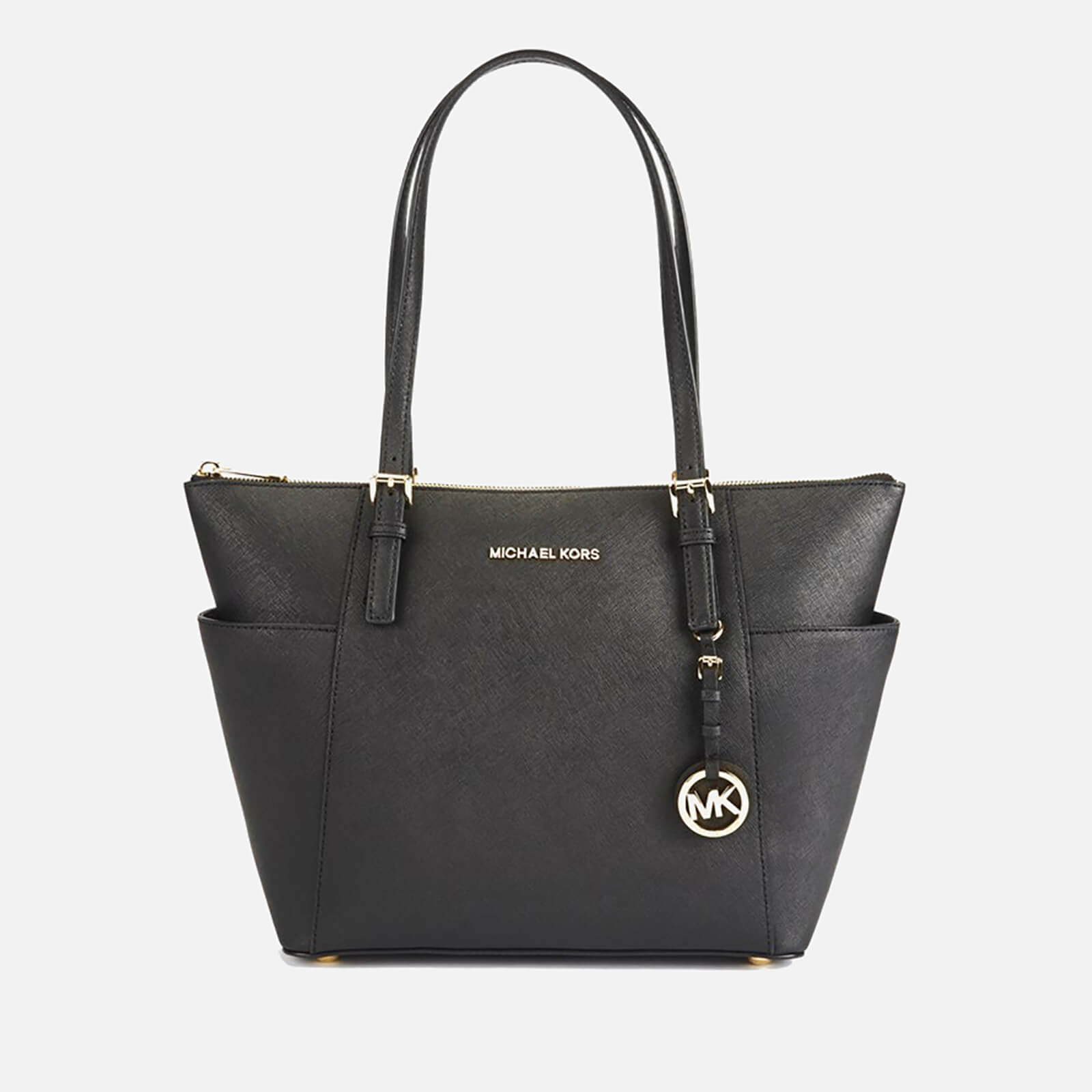 6cebdb98c23b MICHAEL MICHAEL KORS Women's Jet Set East West Top Zip Tote Bag - Black