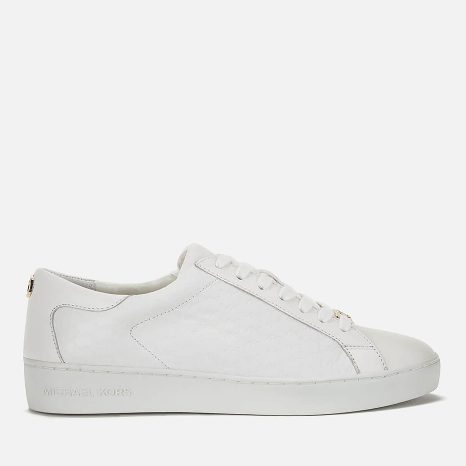 Michael Kors Women's Keaton Stripe Trainers - Vanilla - US 6/UK 3 tmcysl