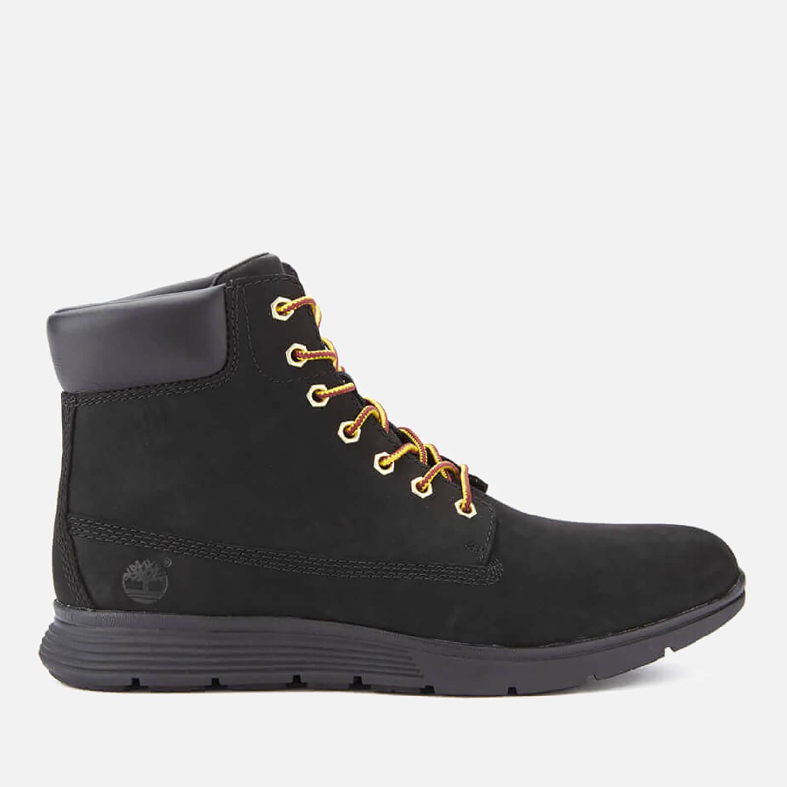 Timberland Men s Killington 6 Inch Boots - Black Nubuck  a8929ec2dbd1