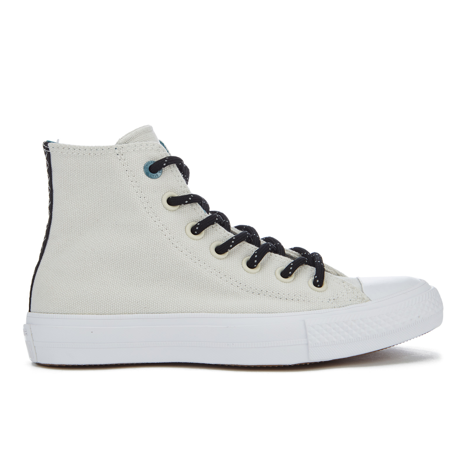 42d435259af586 Converse Women s Chuck Taylor All Star II Shield Canvas Hi-Top Trainers -  Buff Cool Jade White