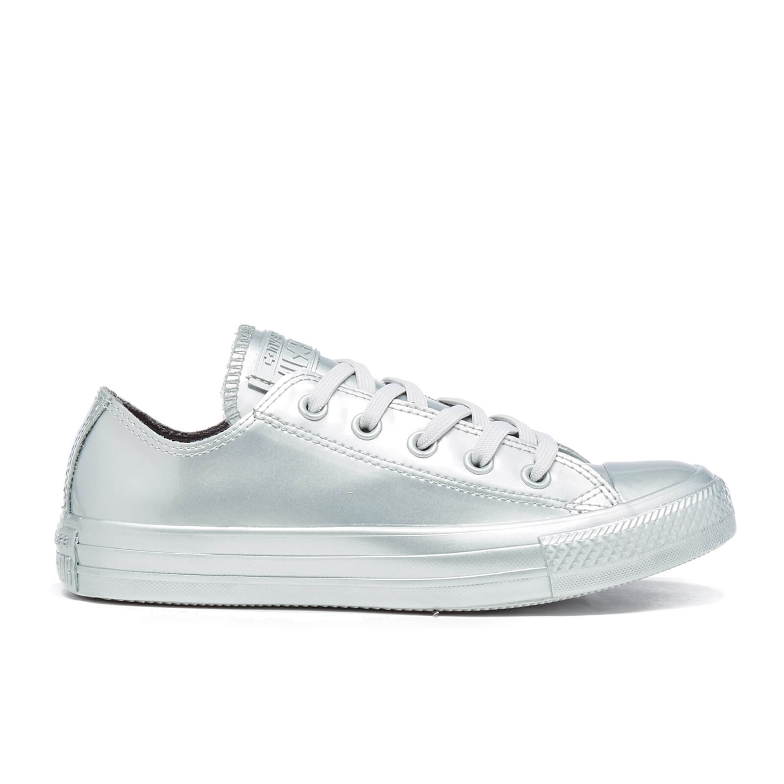 Converse Women s Chuck Taylor All Star Metallic Rubber Ox Trainers ... 4c0708235