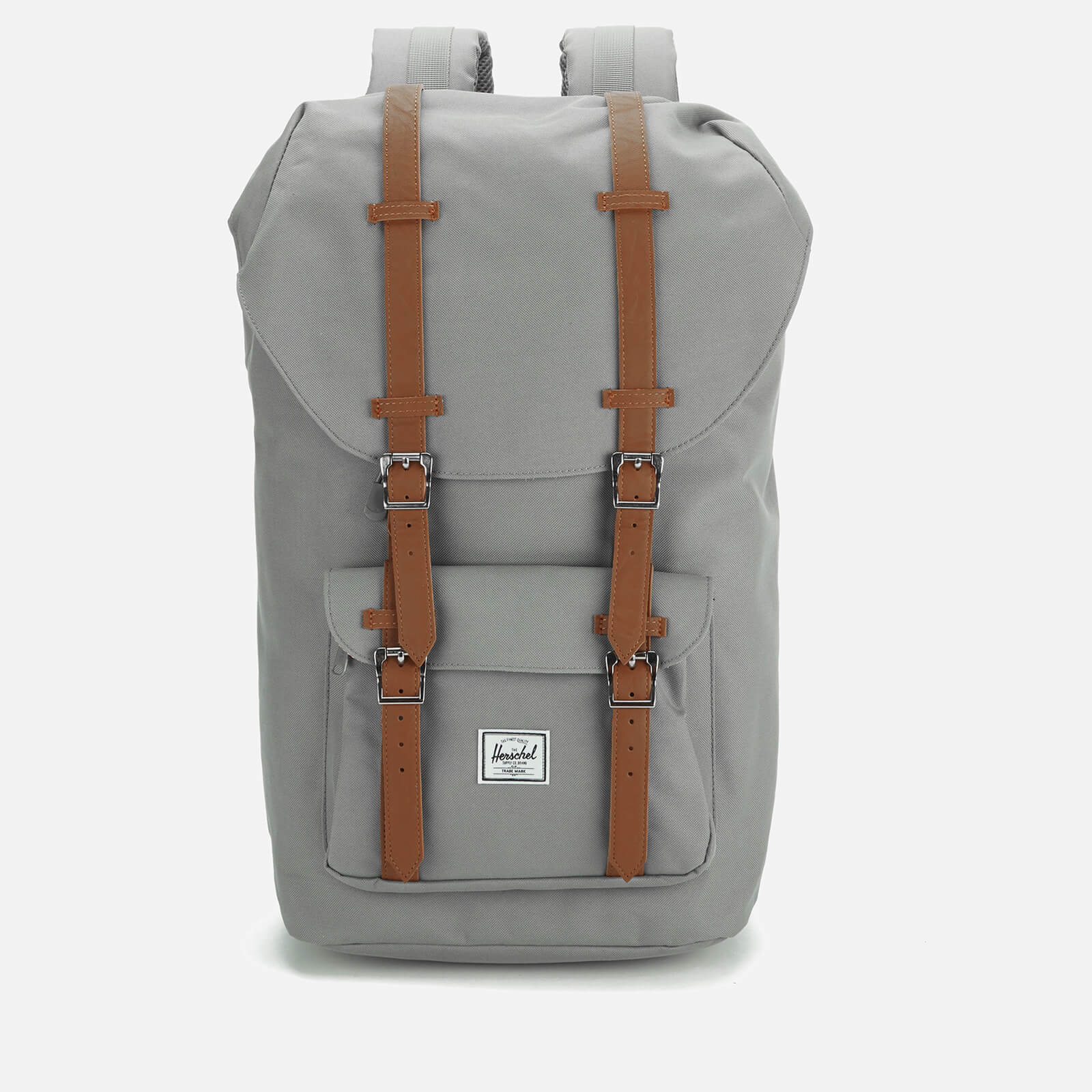 5bbfc728b40 Herschel Supply Co. Little America Backpack - Grey Tan Synthetic Leather