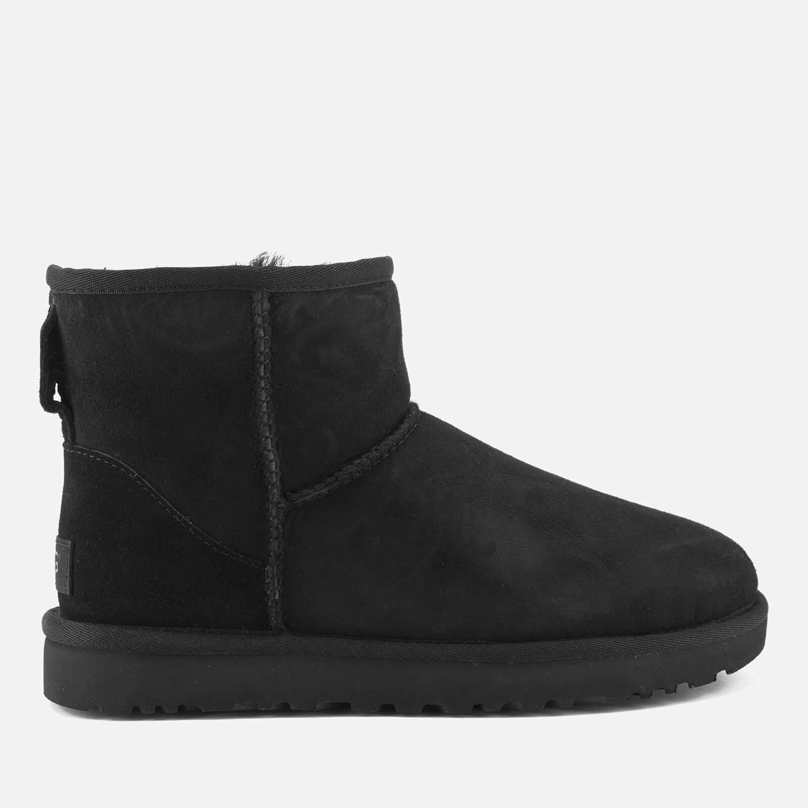 ffec3da4df ... sweden ugg womens classic mini ii sheepskin boots black free uk ugg  kids mini bailey 9f8dd ...