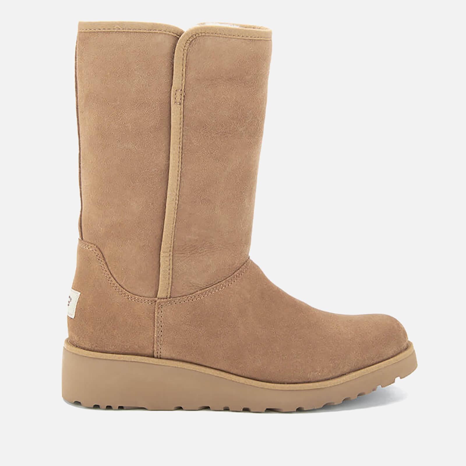 UGG Women s Amie Classic Slim Sheepskin Boots - Chestnut  be05639bde
