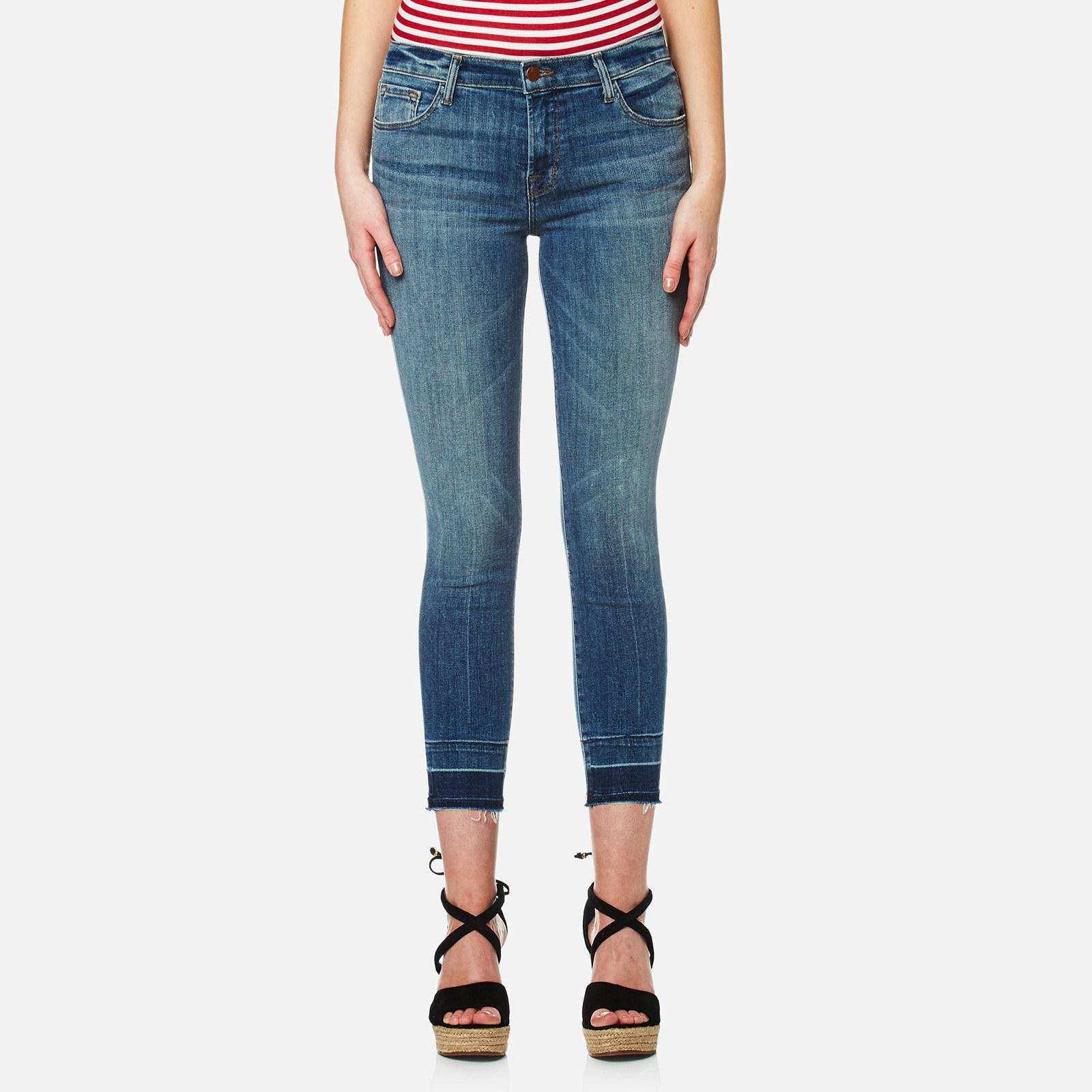 J Brand Women s 835 Mid Rise Crop Skinny Jeans - Corrupted 09ba26816b3f2