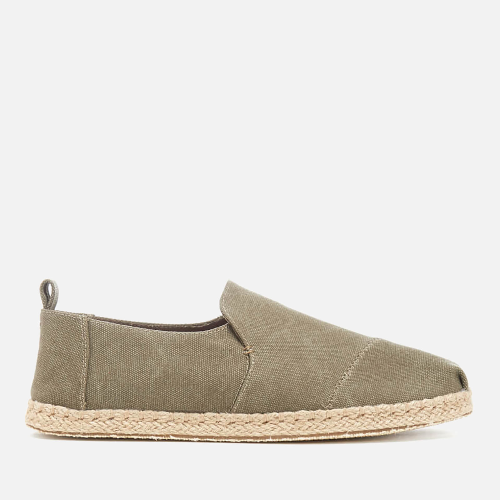 c32fd45a989 TOMS Men s Deconstructed Alpargata Espadrille Slip-On Pumps - Olive ...