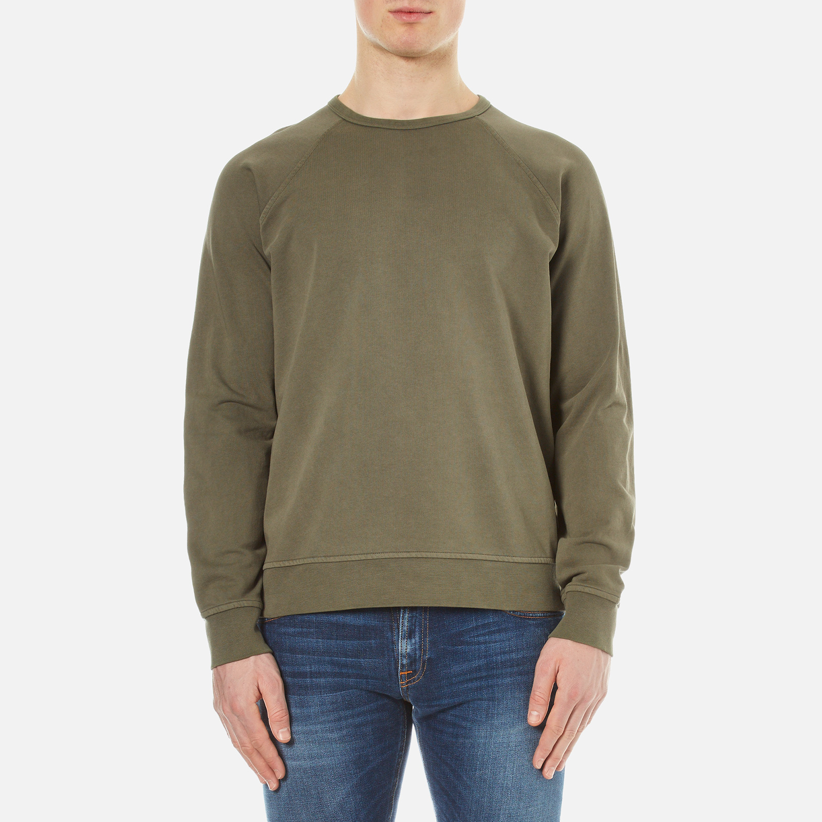 Ymc black t shirt - Ymc Men S Almost Grown Sweatshirt Olive