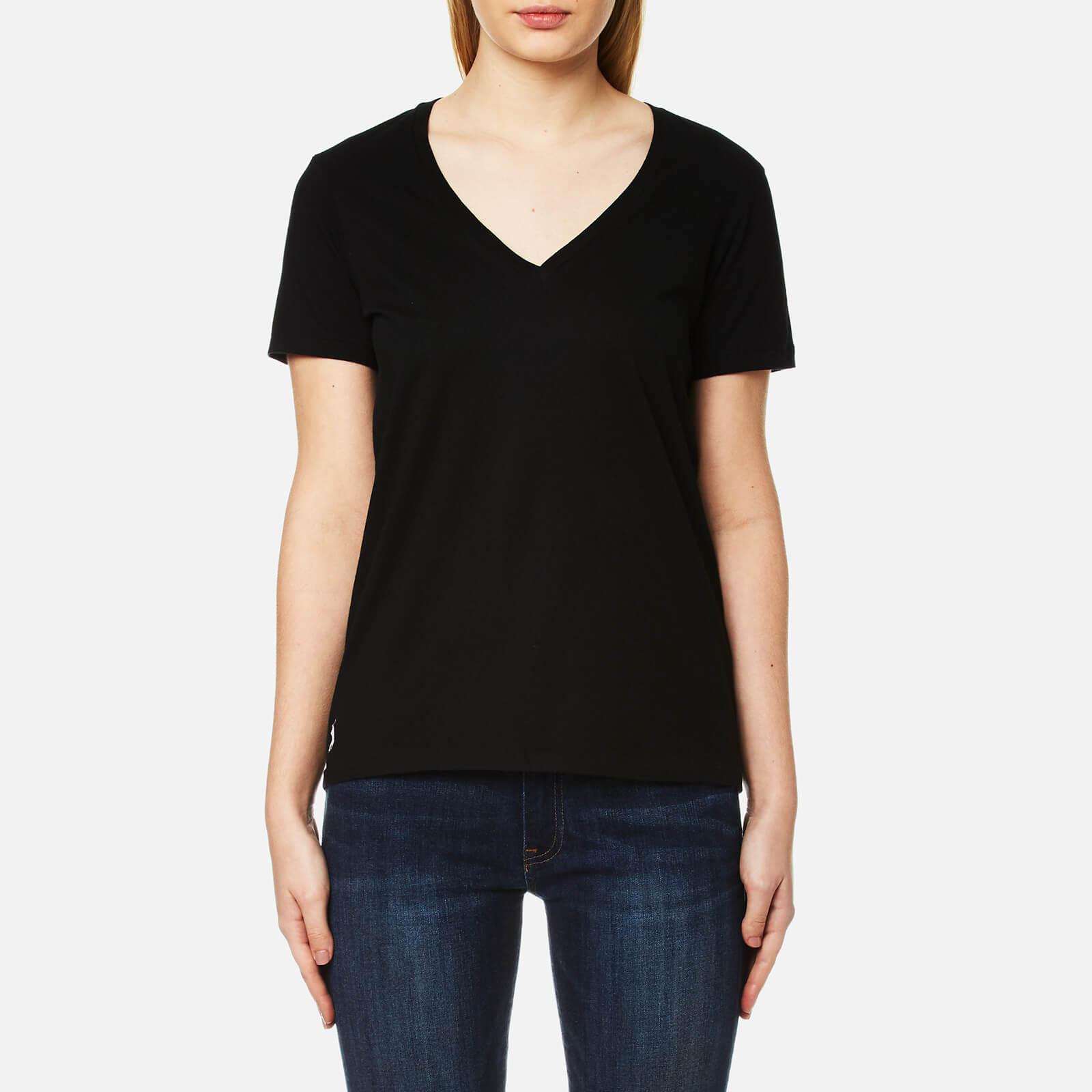 Polo ralph lauren t shirts women the for V neck black t shirt women s