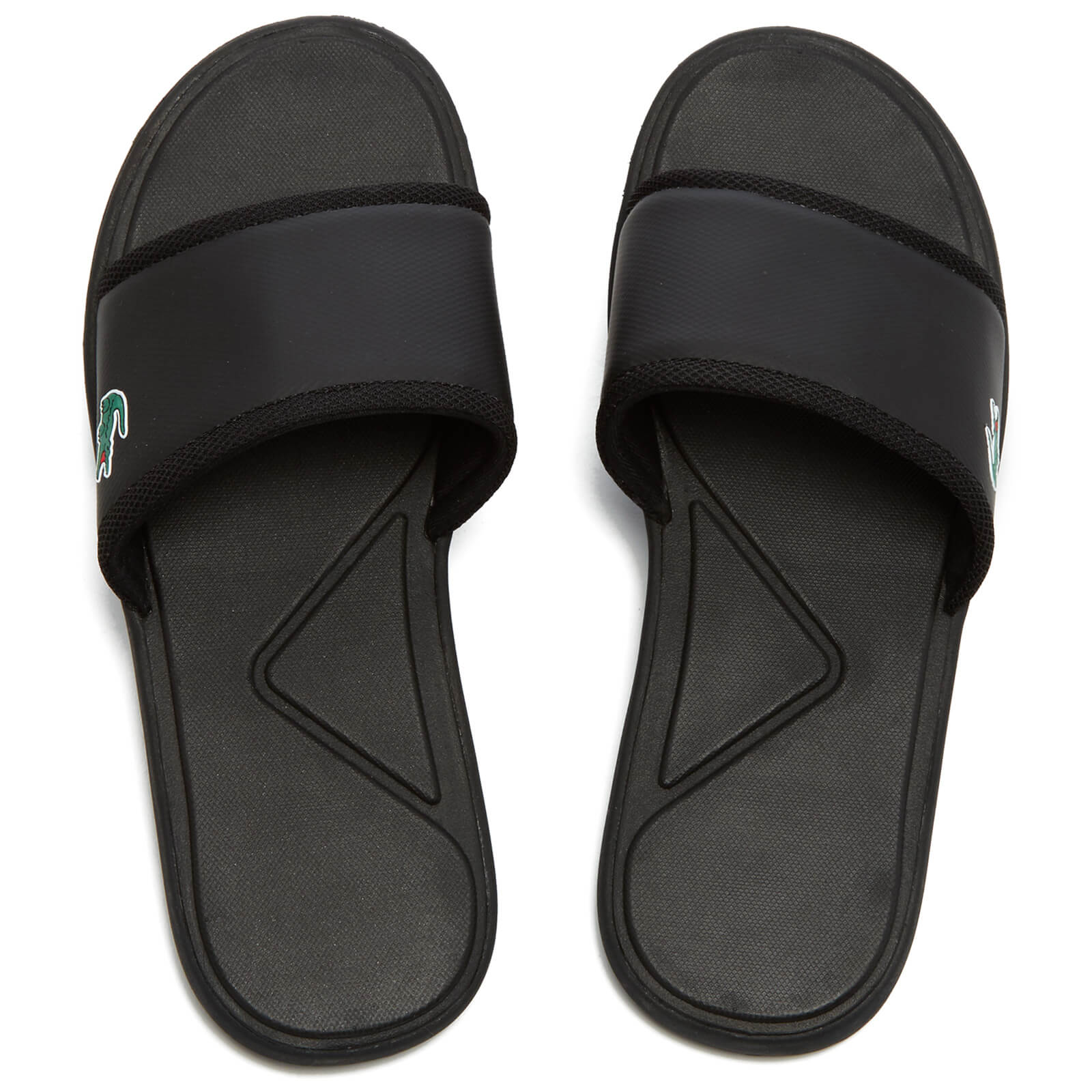 af858ea49 Lacoste Men s L.30 Slide Sport Slide Sandals - Black