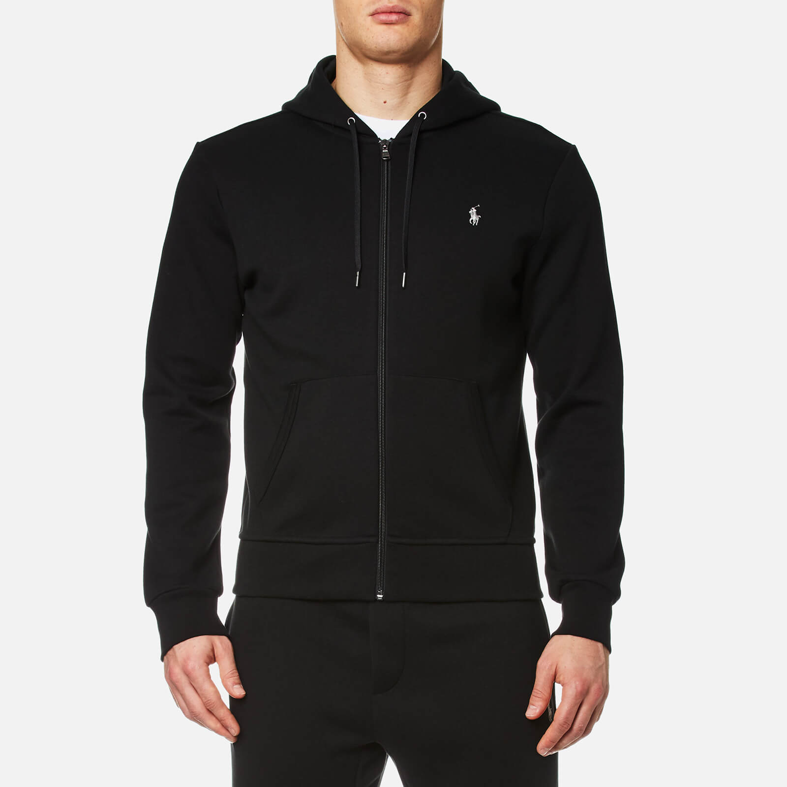 16e16aba6 Polo Ralph Lauren Men's Double Knit Zip Hoody - Polo Black