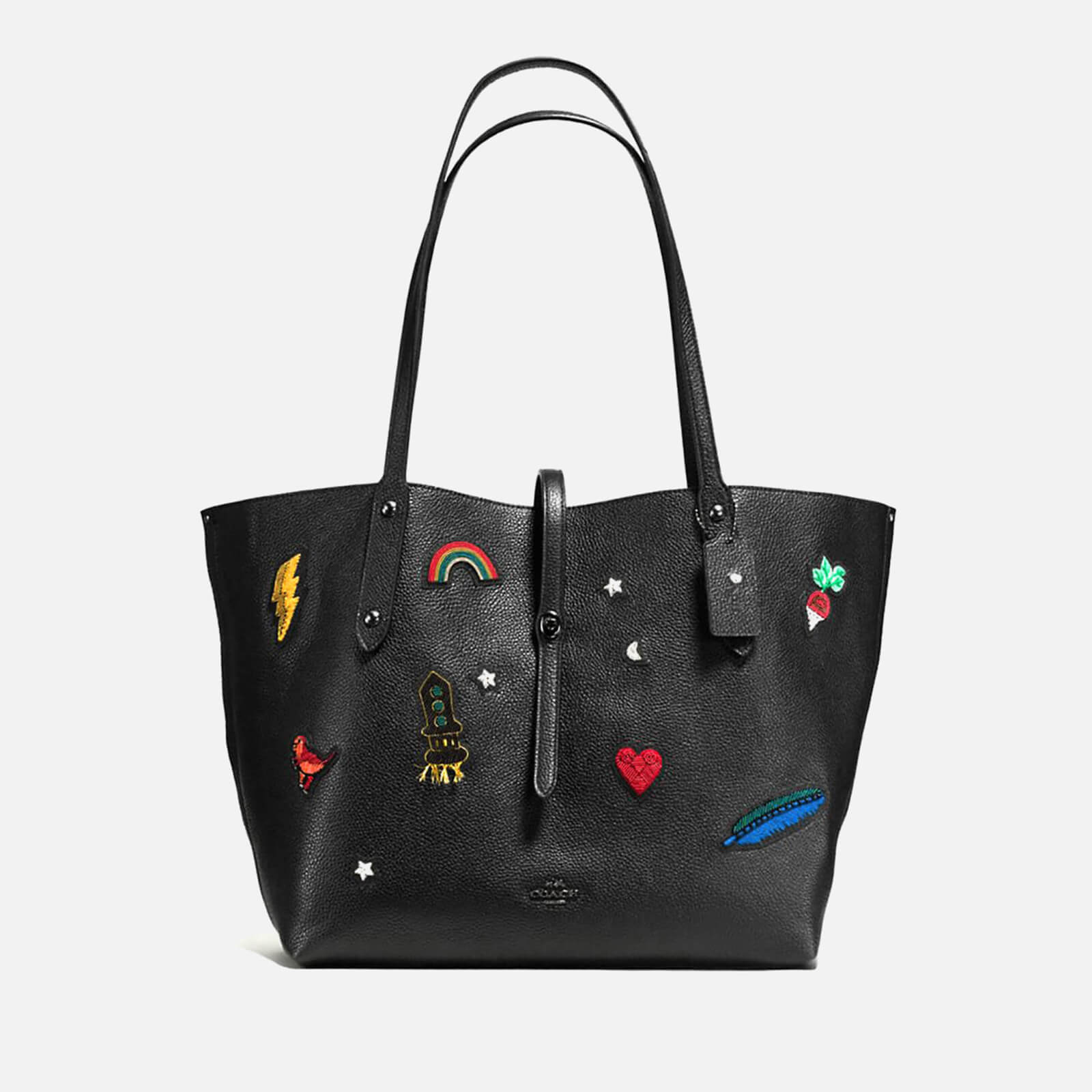 Coach Women s Market Tote Bag - Black - Free UK Delivery over £50 3d25484bd7