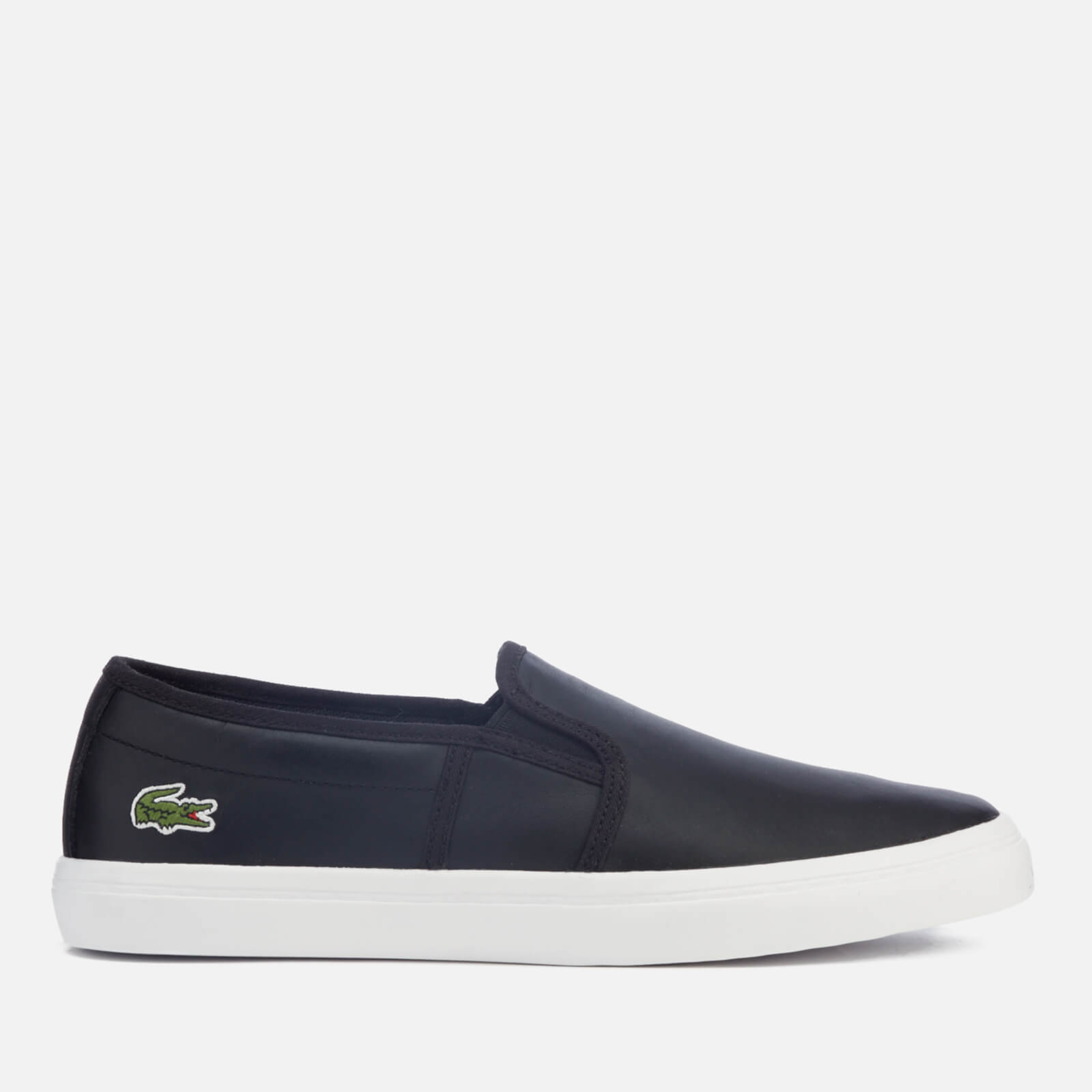 65cd0bdacbf Lacoste Women s Gazon Bl 1 Leather Slip-On Trainers - Black
