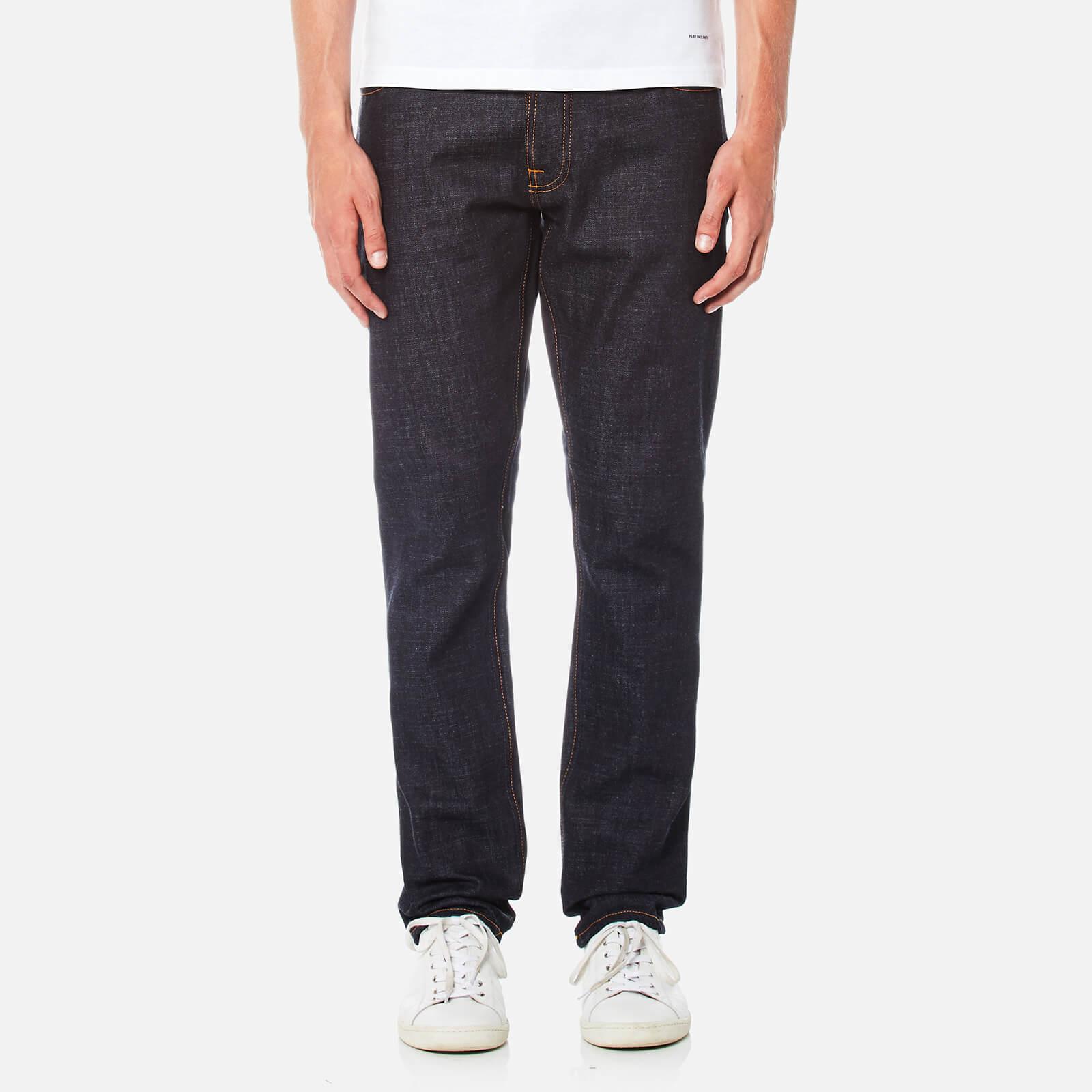 Nudie Jeans Men s Dude Dan Straight Jeans - Dry Comfort Dark 25c064974
