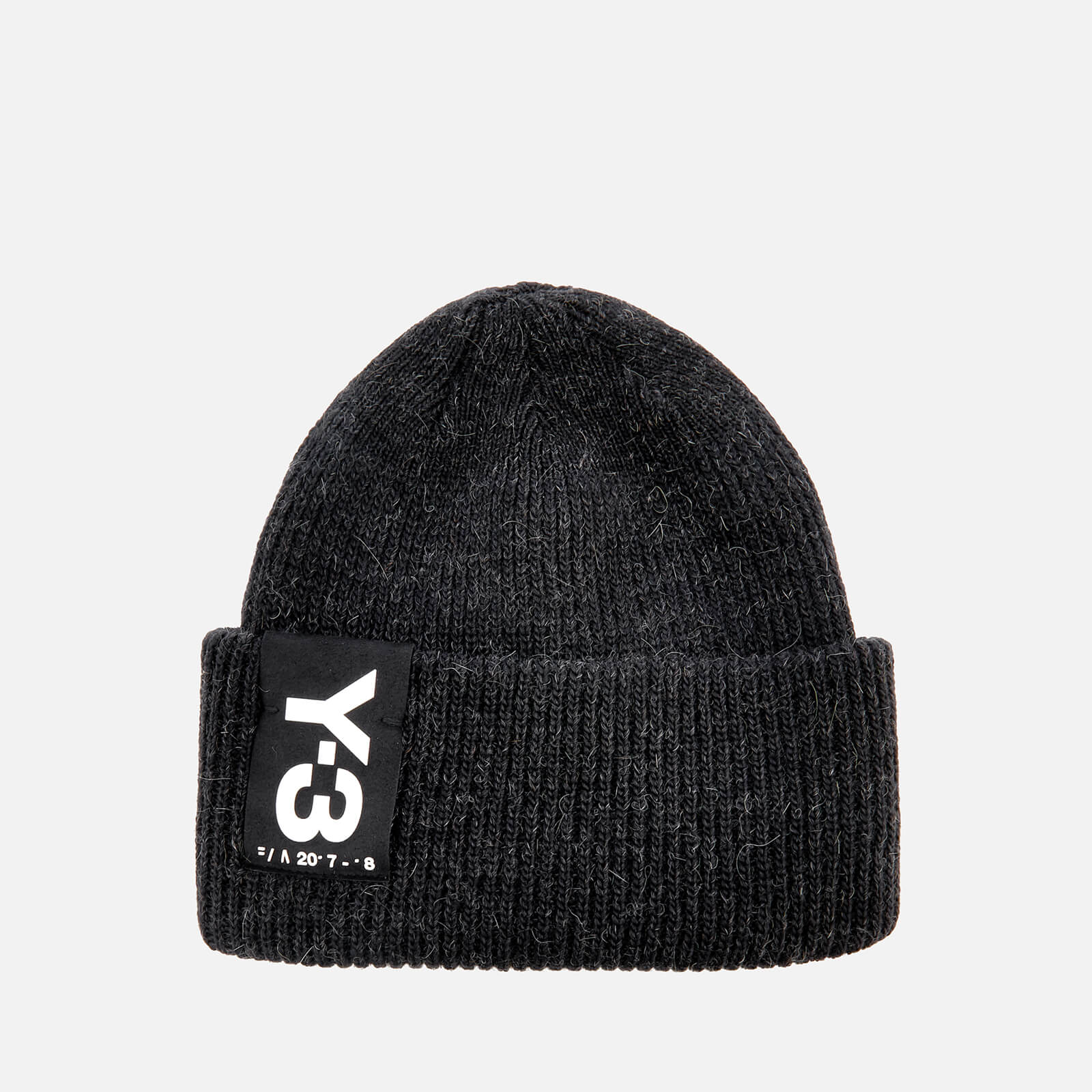 Y-3 Women s Badge Beanie - Black - Free UK Delivery over £50 8d65f8b726