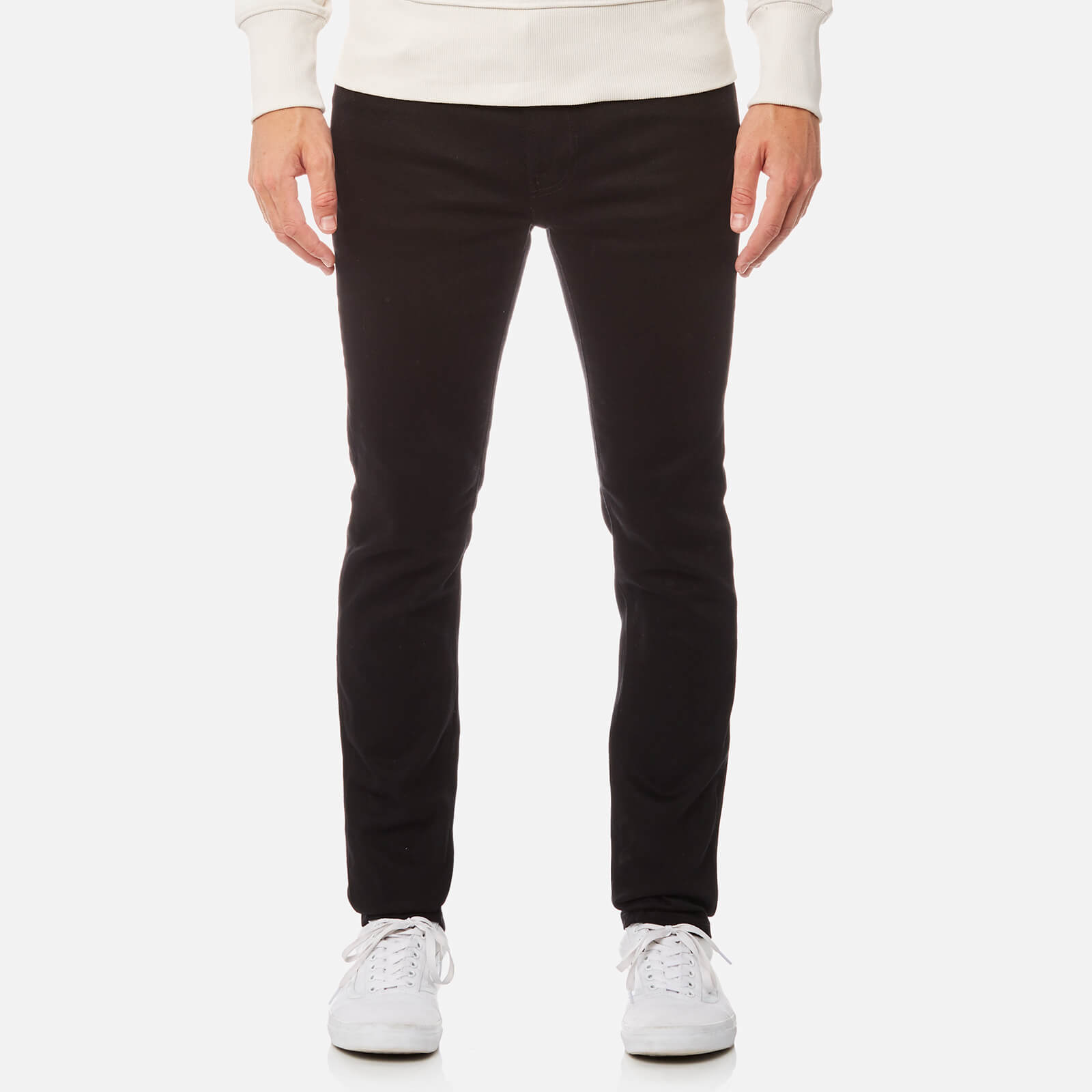 Nudie Jeans Men s Lean Dean Tapered Jeans - Dry Ever Black 59fc5fb90