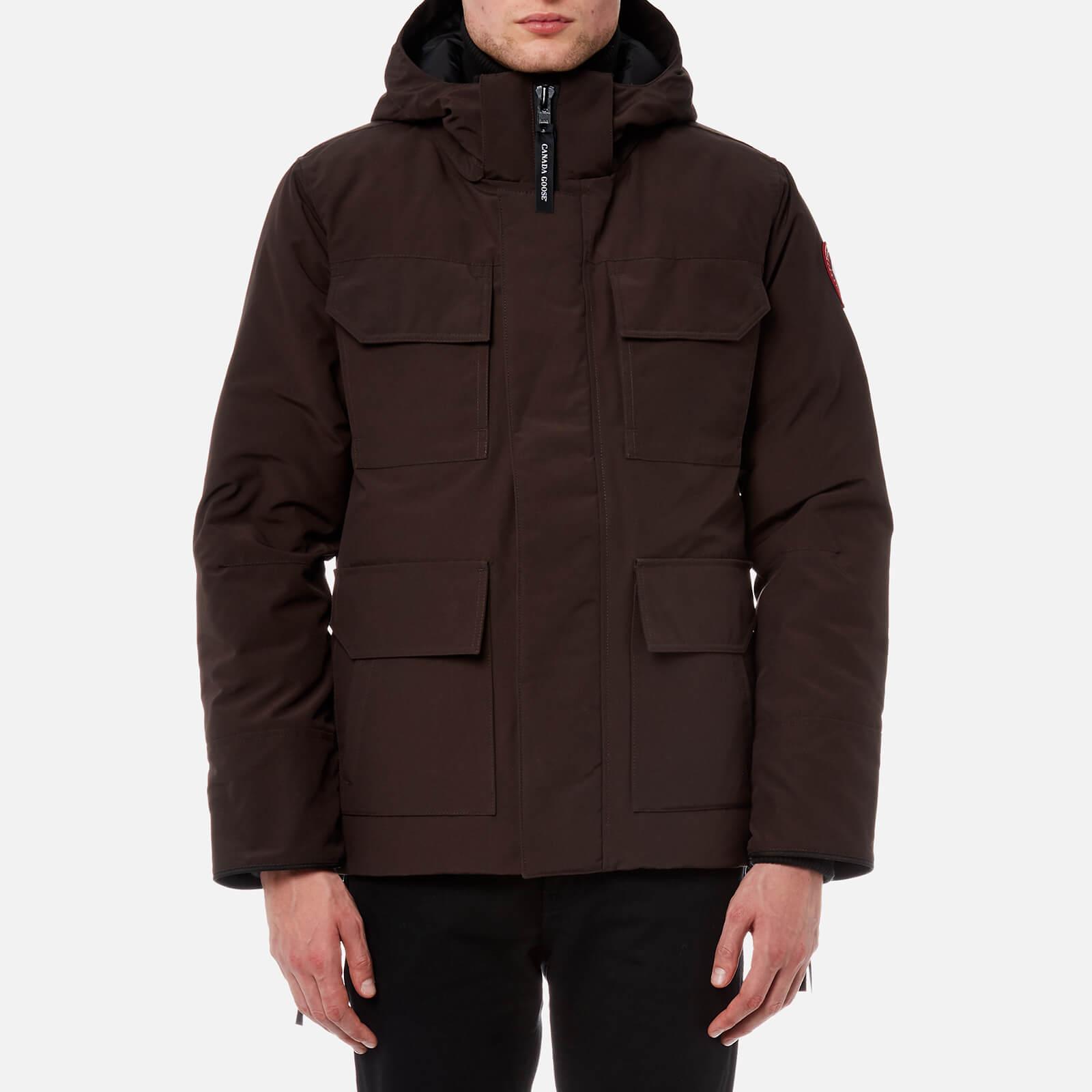 canada goose jacket brown thomas