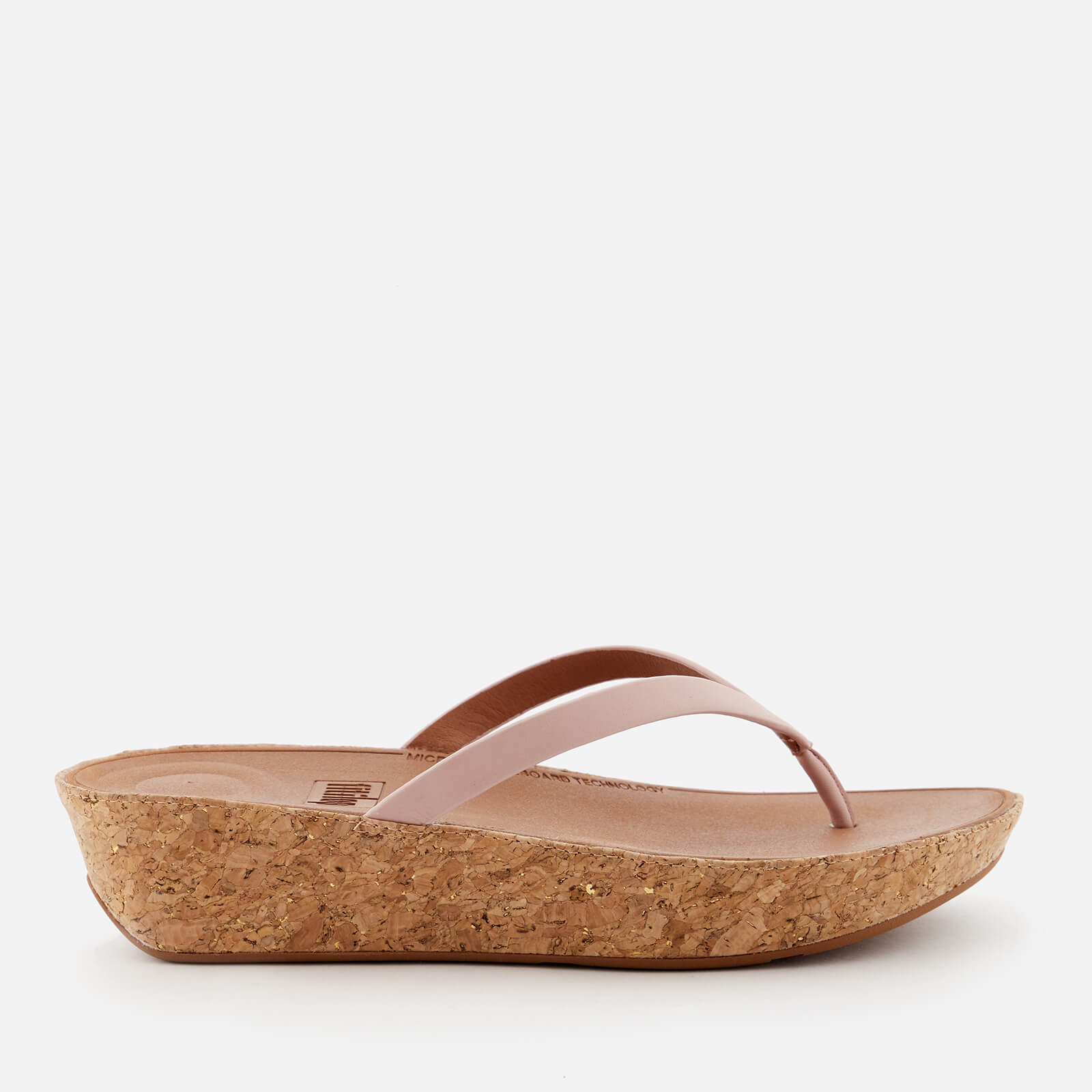 eb4cce133 FitFlop Women s Linny Wedged Toe Post Sandals - Dusky Pink