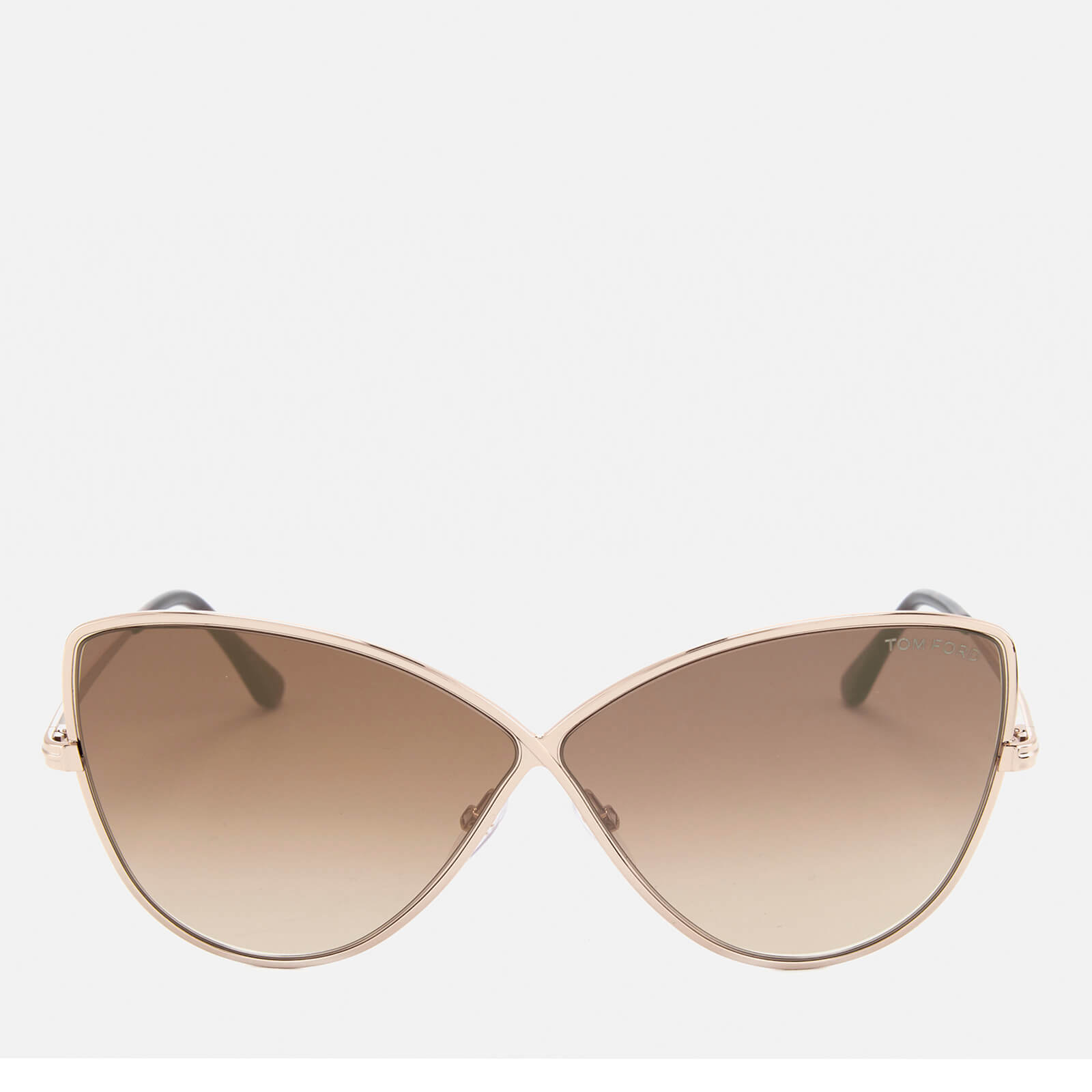 1ed19bf11b6 Tom Ford Women s Elise Butterfly Shape Sunglasses - Rose Gold Brown Mirror