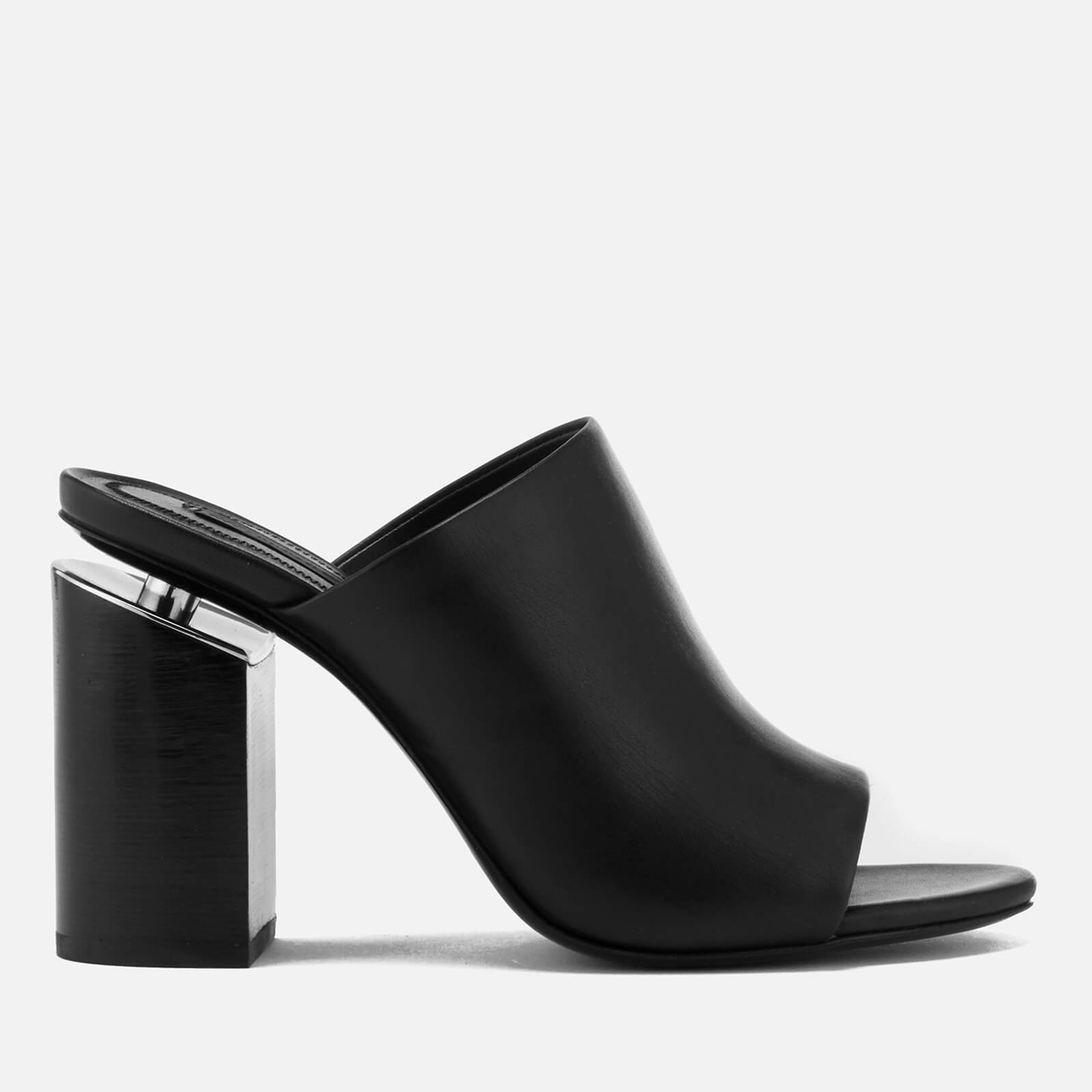 aca09d05db2a Alexander Wang Women s Avery Leather Heeled Mules - Black