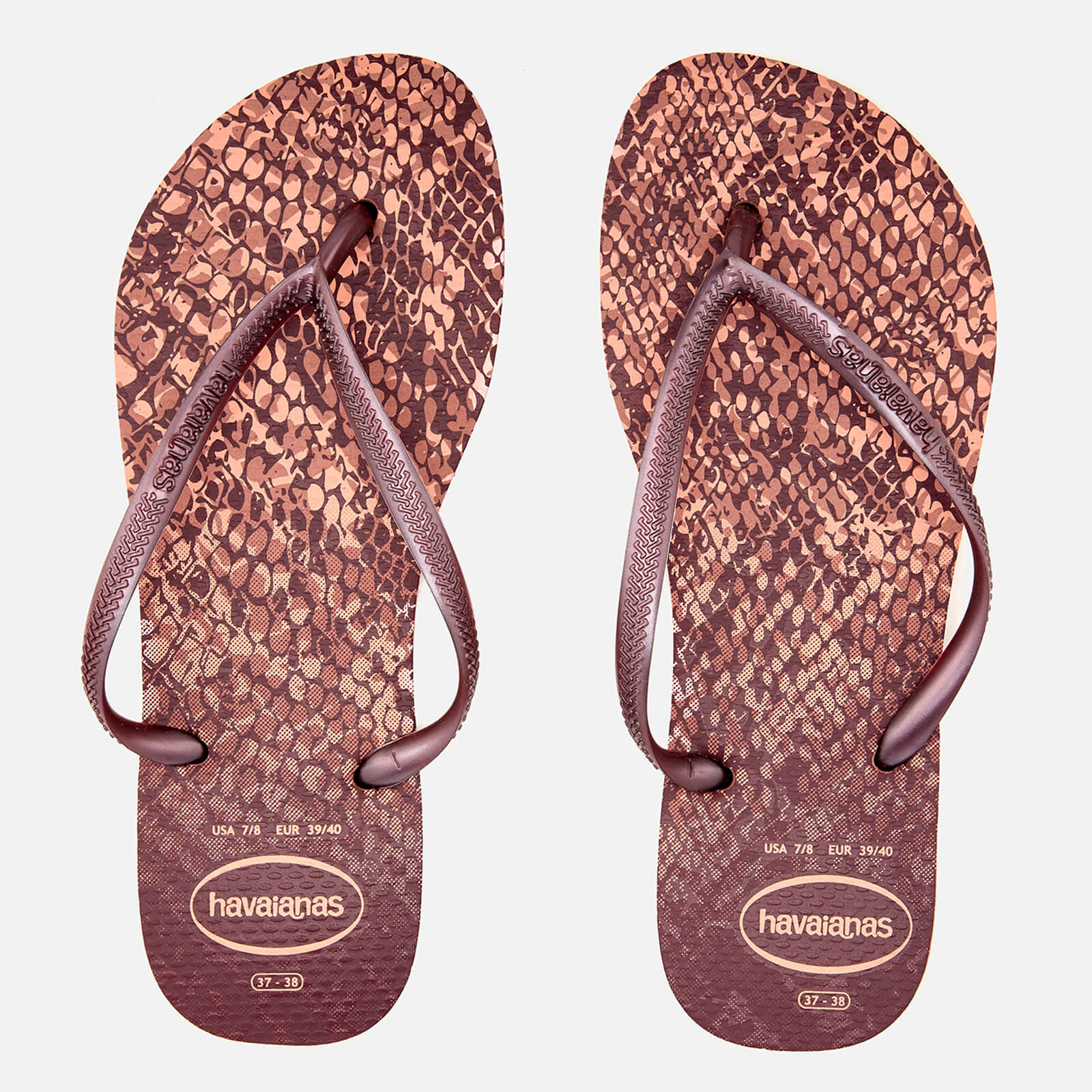 d3ed4ff038e268 Havaianas Women s Slim Animals Flip Flops - Crocus Rose