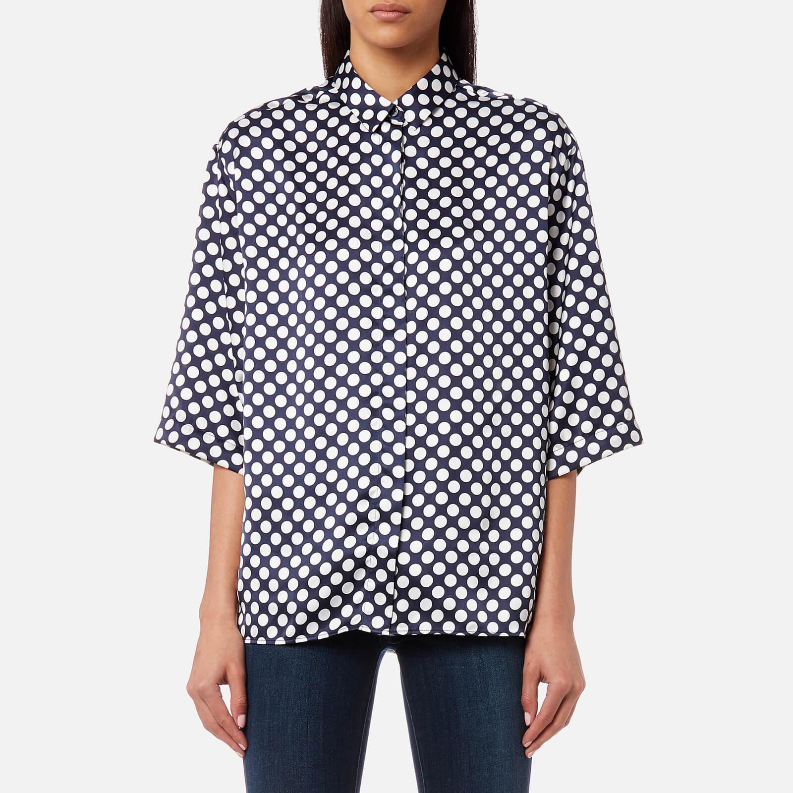 PS by Paul Smith Women's Spot Shirt - Navy