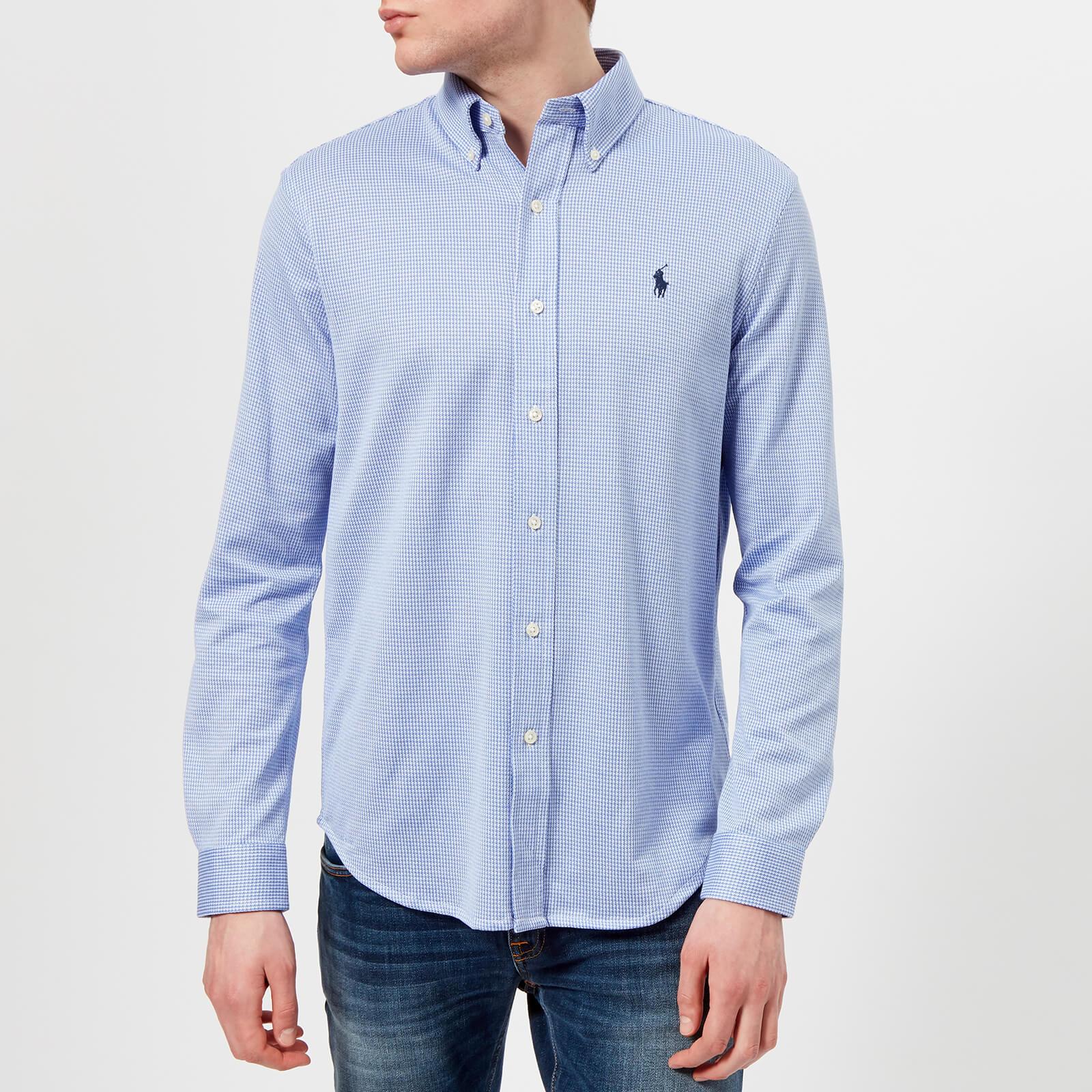 Polo Ralph Lauren Mens Long Sleeve Oxford Pique Shirt Stratford