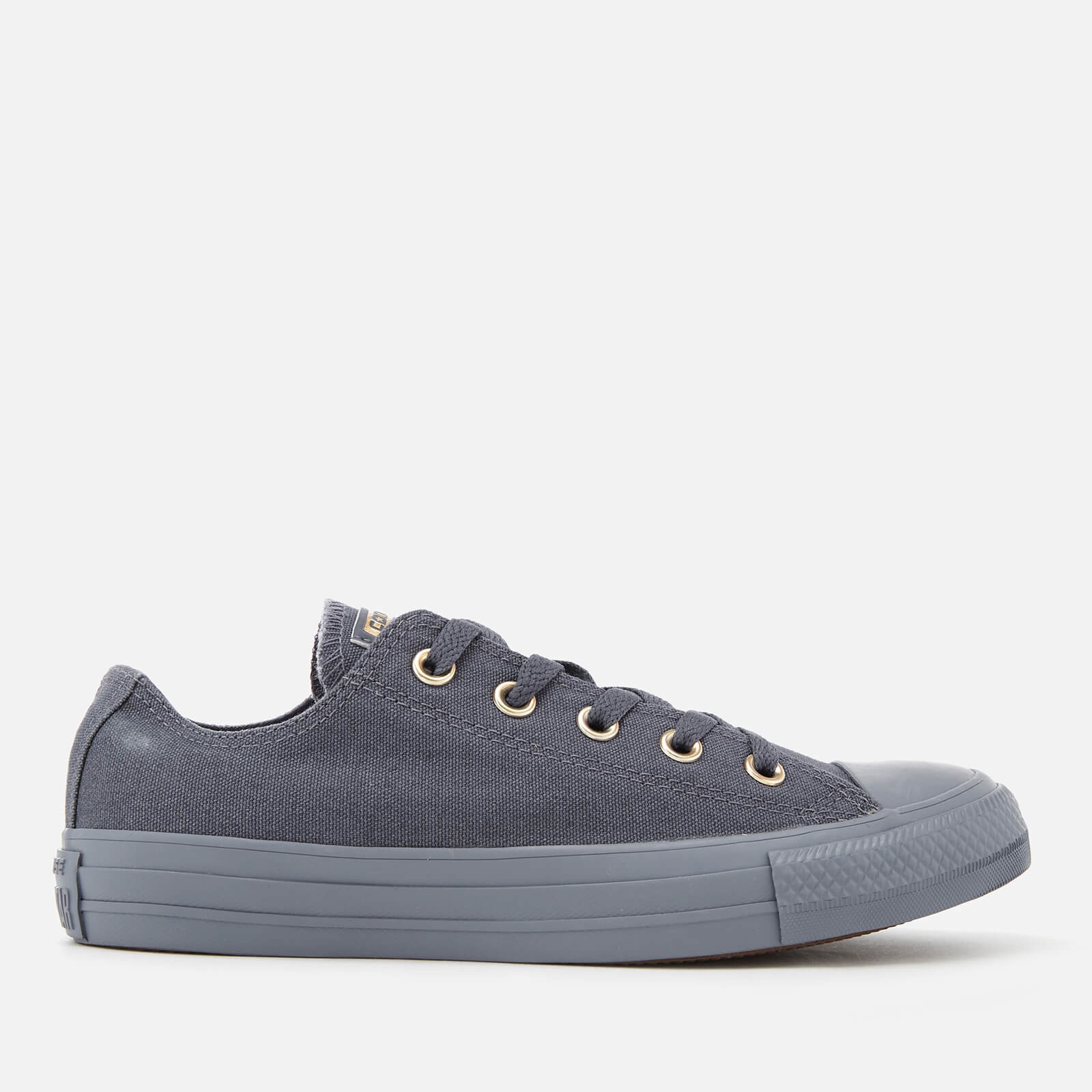 8cc115cbcbe Converse Women s Chuck Taylor All Star Ox Trainers - Light Carbon ...