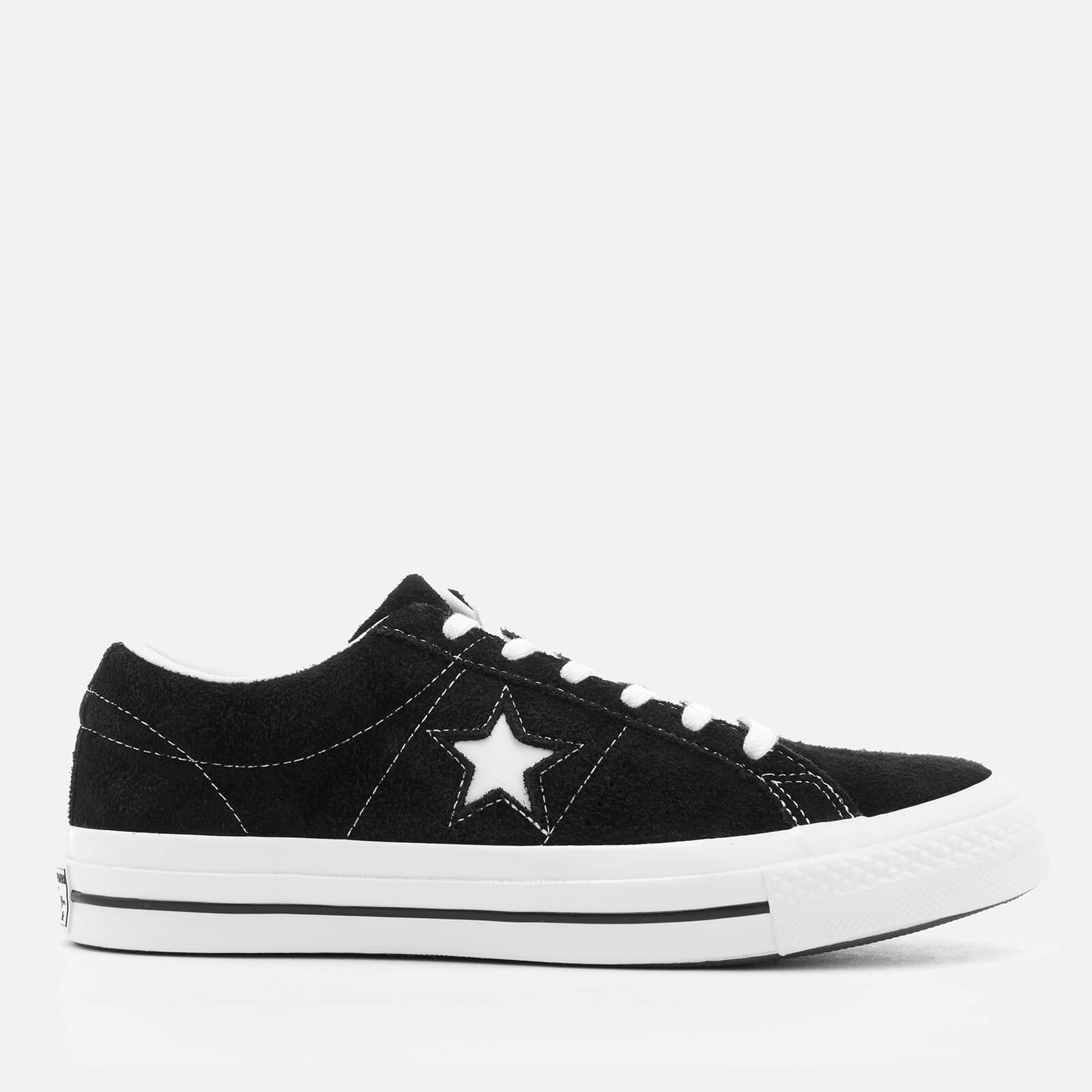 75a475eccfeed3 Converse One Star Ox Trainers - Black White