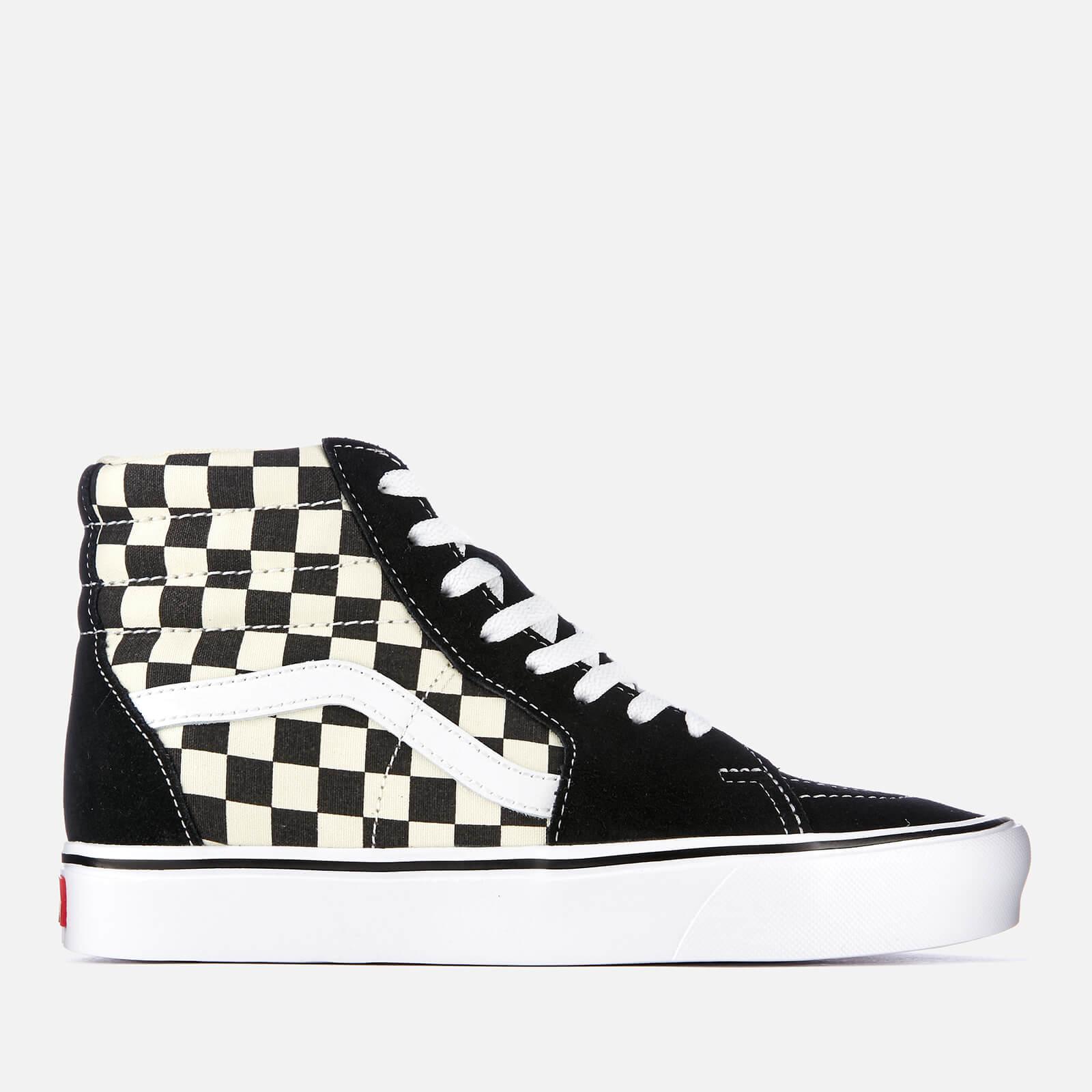 90ac720ae7 Vans Checkerboard Sk8 Hi-Top Lite Trainers - Black White
