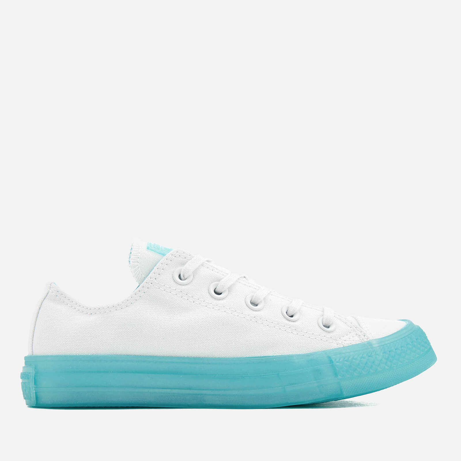 1ce6b94ef7a5 Converse Women s Chuck Taylor All Star Ox Trainers - White Bleached ...