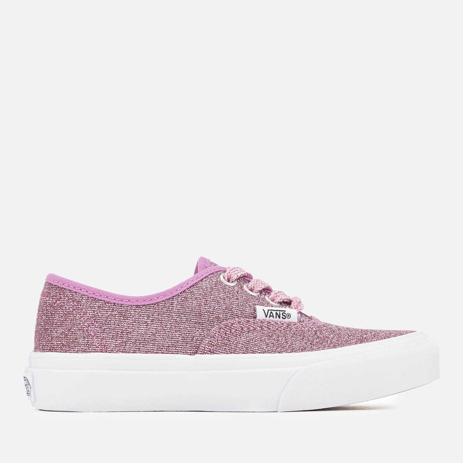 b51eff049ef28a Vans Kids  Authentic Lurex Glitter Trainers - Pink True White