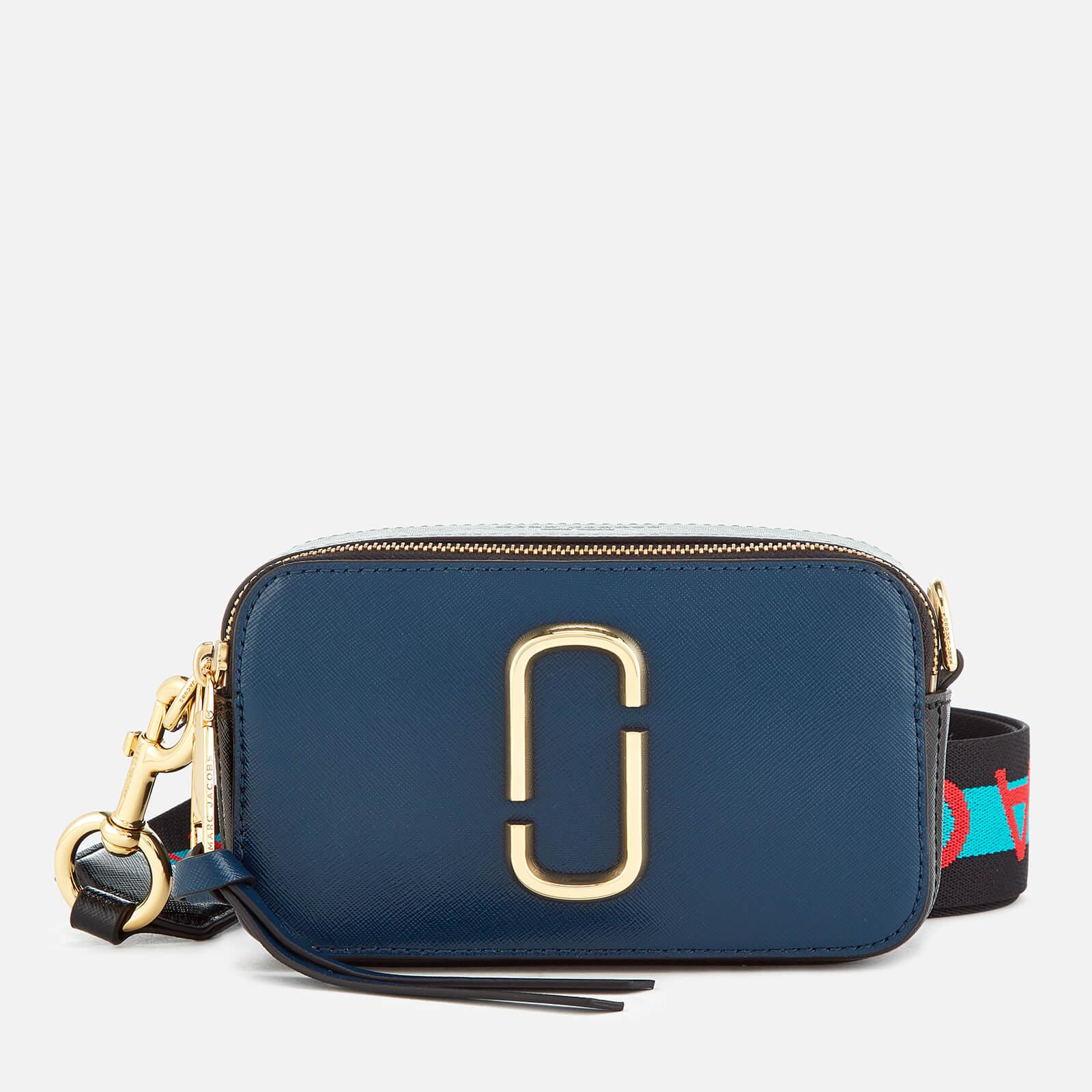 Marc Jacobs Women s Snapshot Cross Body Bag - Blue Sea Multi - Free ... f03bd00d9844e