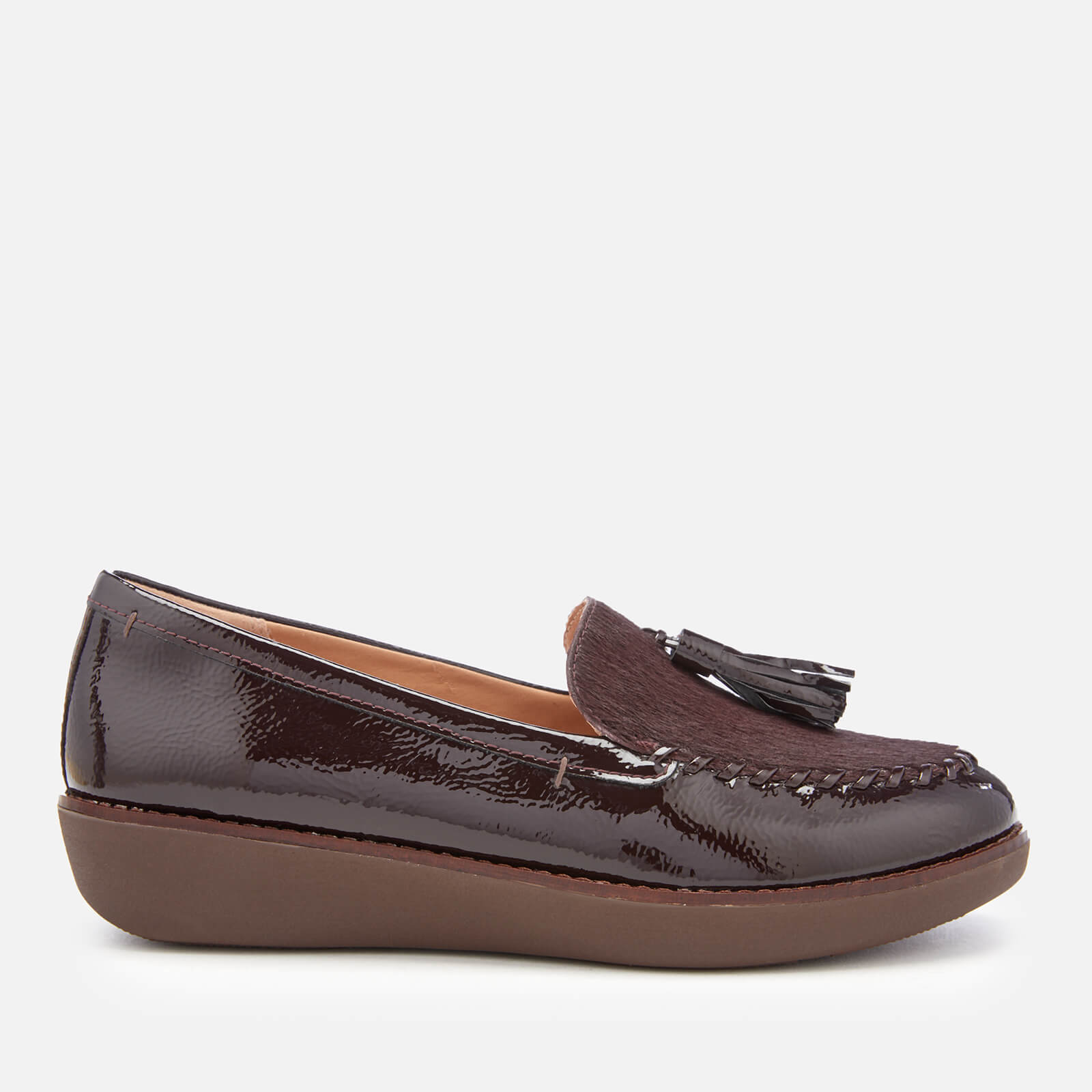 799f19e77ad FitFlop Women s Paige Moccasin Loafers - Berry