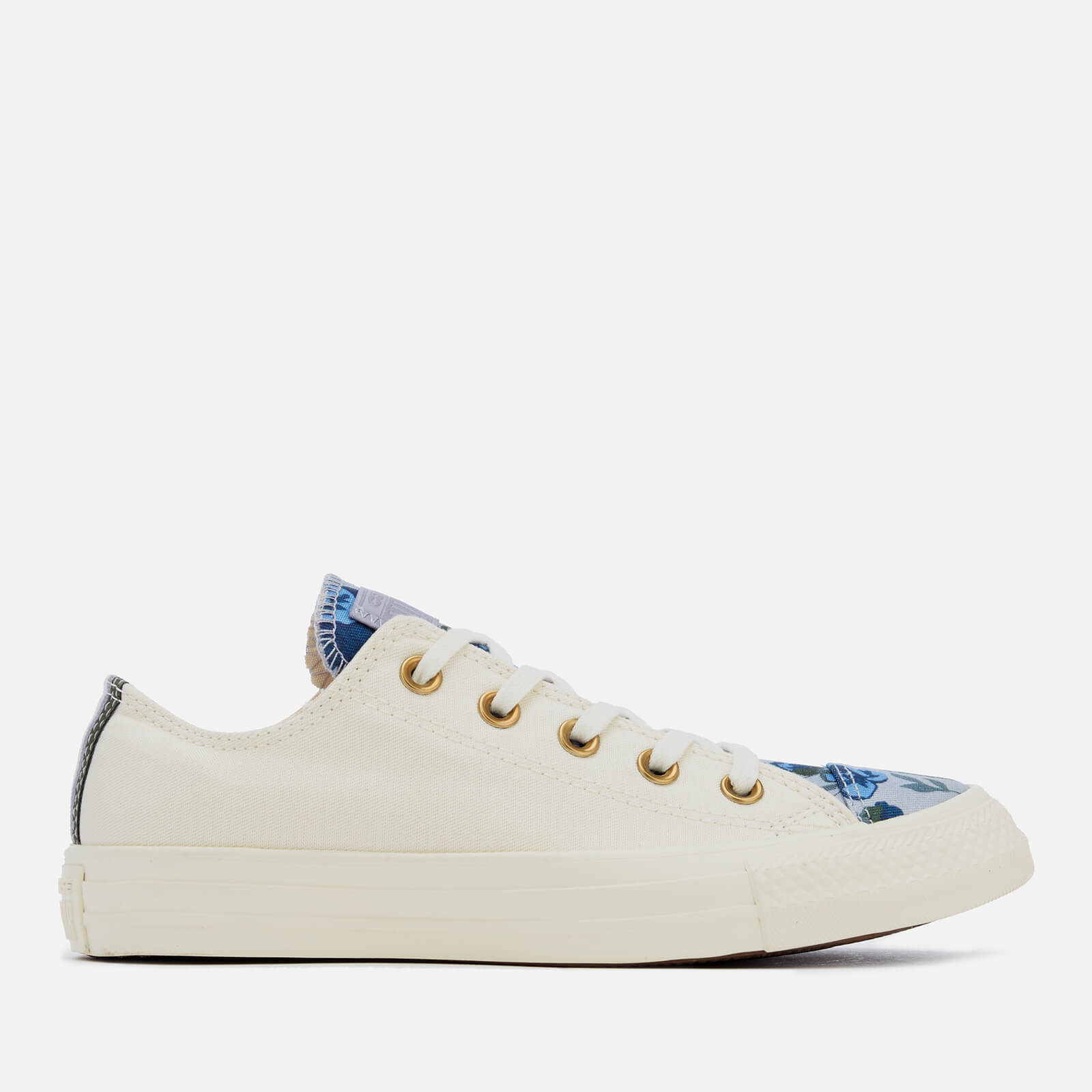c07fffcded27 Converse Women s Chuck Taylor All Star Ox Trainers - Egret Provence ...